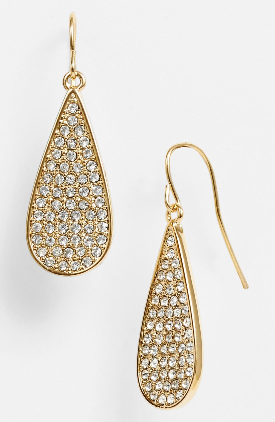 Main Image - Lauren Ralph Lauren Pavé Teardrop Earrings