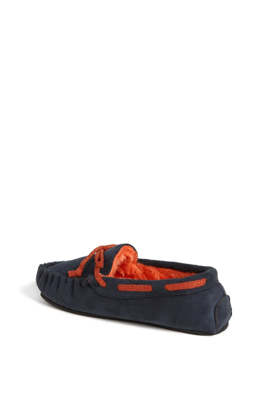 Alternate Image 2  - Stride Rite Moc Stitched Slippers (Toddler & Little Kid)