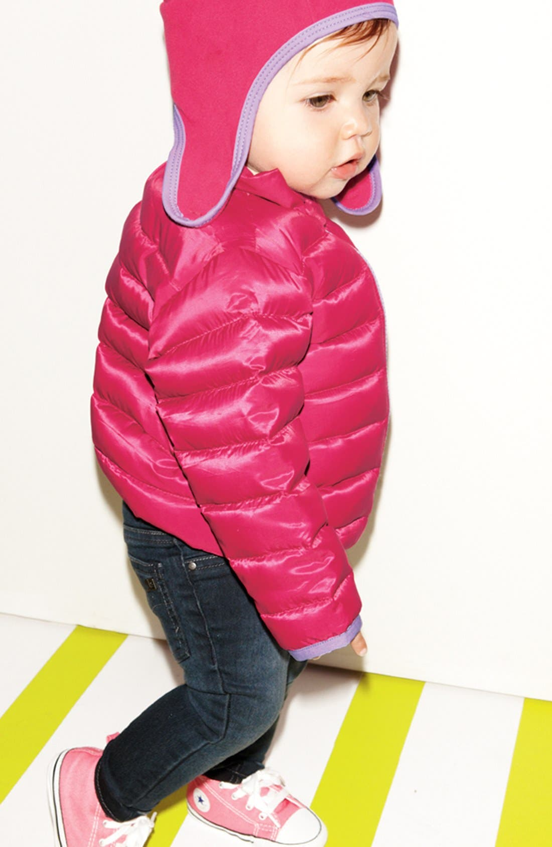 Alternate Image 2  - The North Face 'Noggin' Polartec® Fleece Hat (Baby Girls)