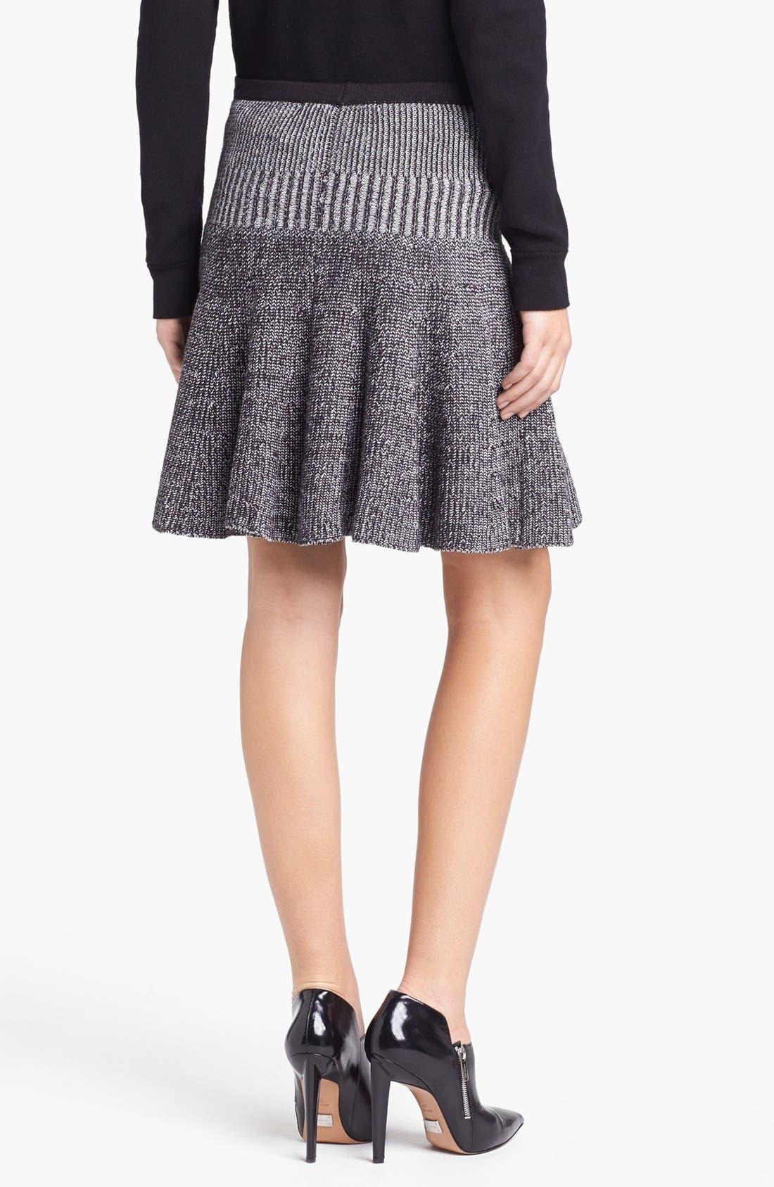 Alternate Image 2  - MARC BY MARC JACOBS 'Jen' Cotton Sweater Skirt