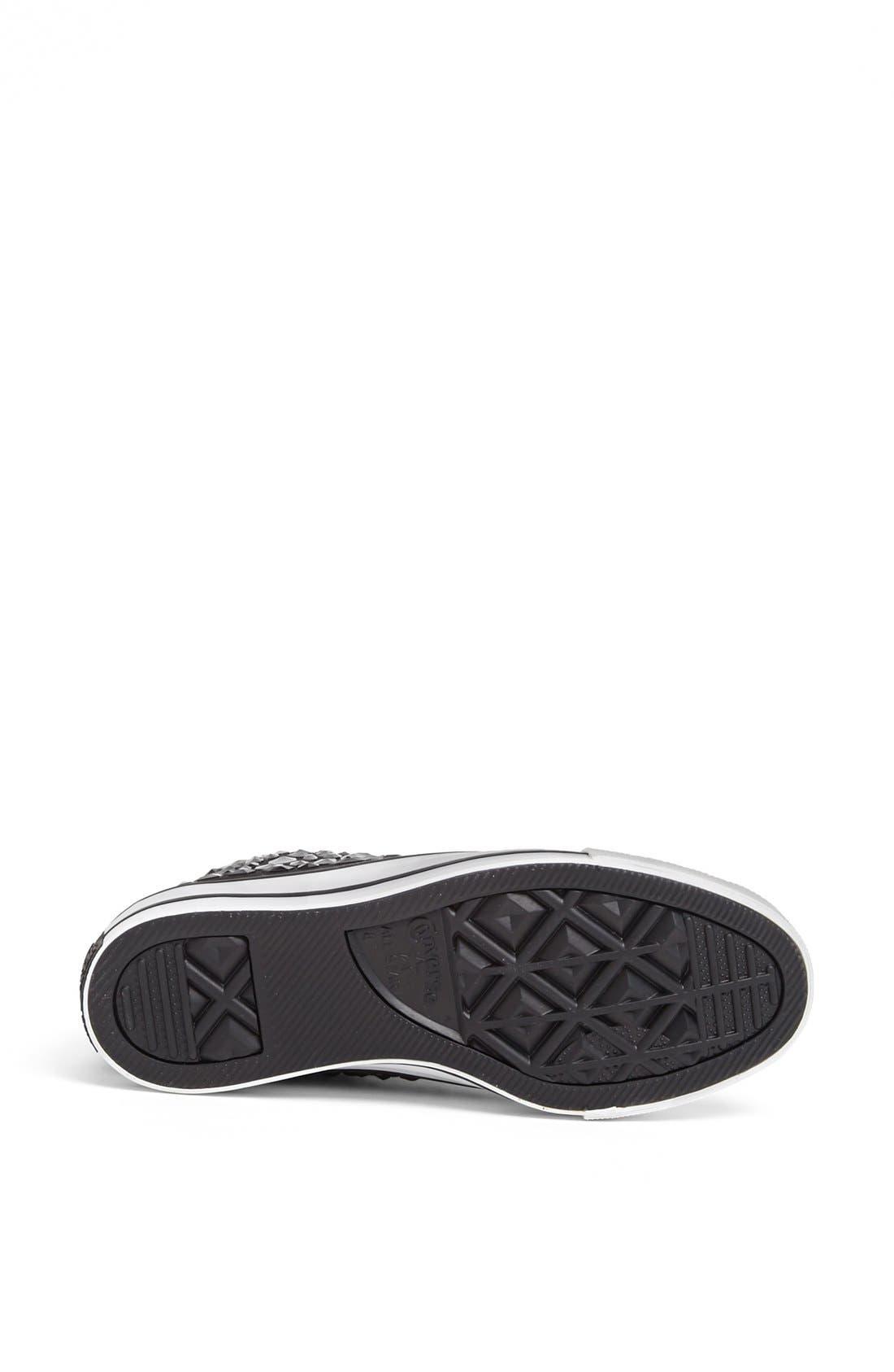 Alternate Image 4  - Converse Chuck Taylor® All Star® 'Rhinestone' High Top Sneaker (Women)