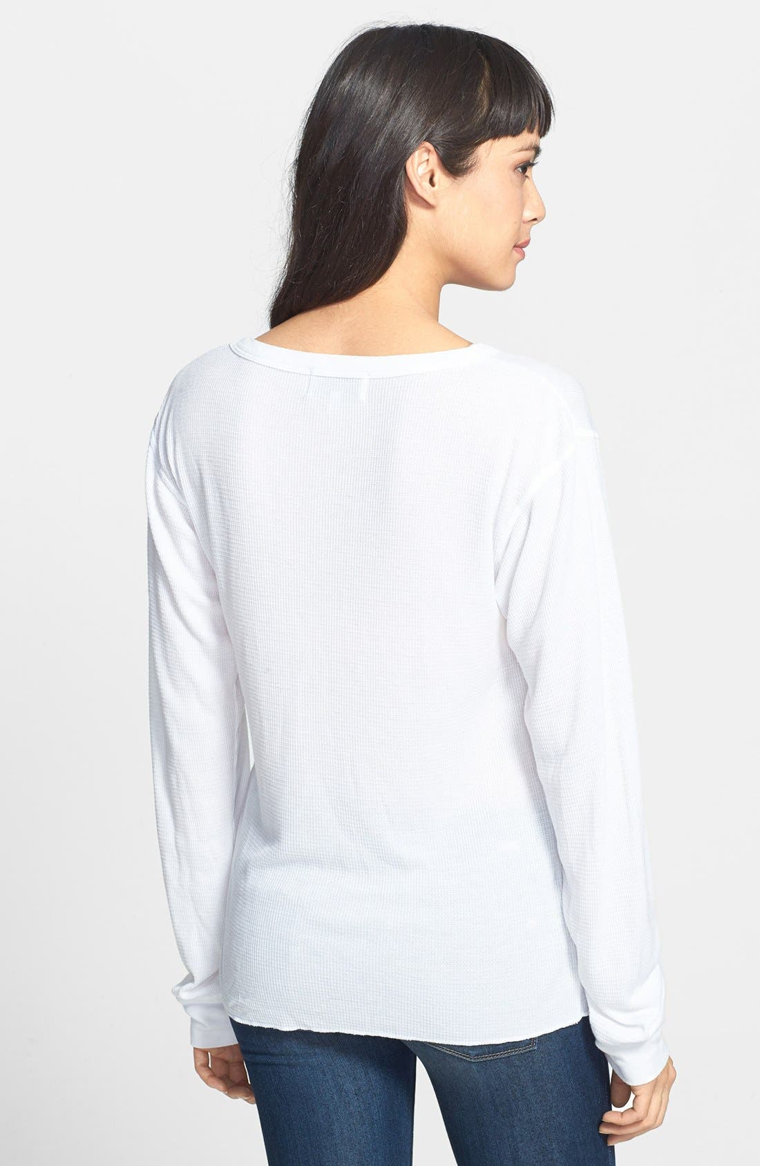 Alternate Image 2  - Wildfox 'Winter List' Thermal Tee