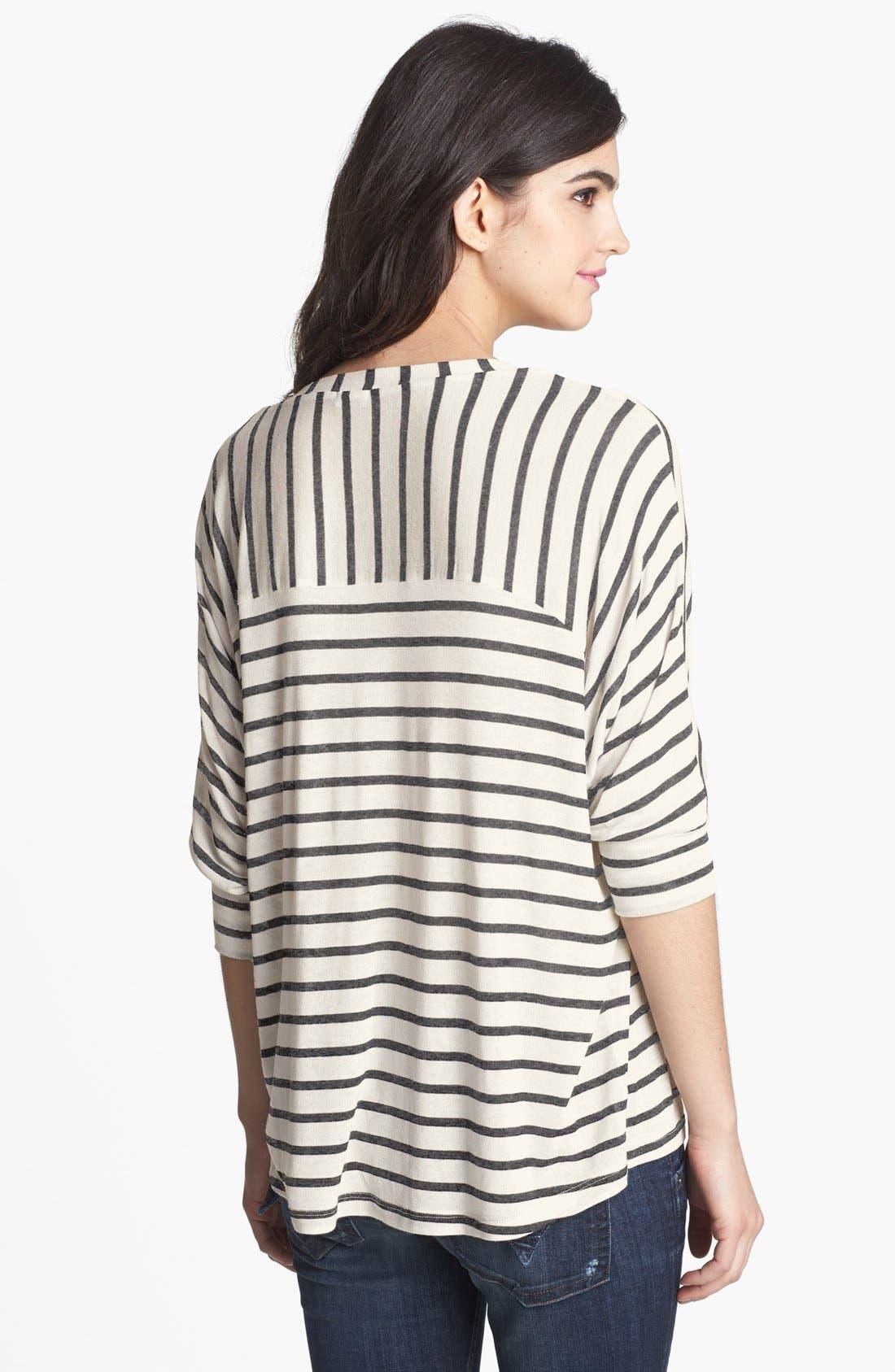 Alternate Image 2  - Splendid Stripe Scoop Neck Top