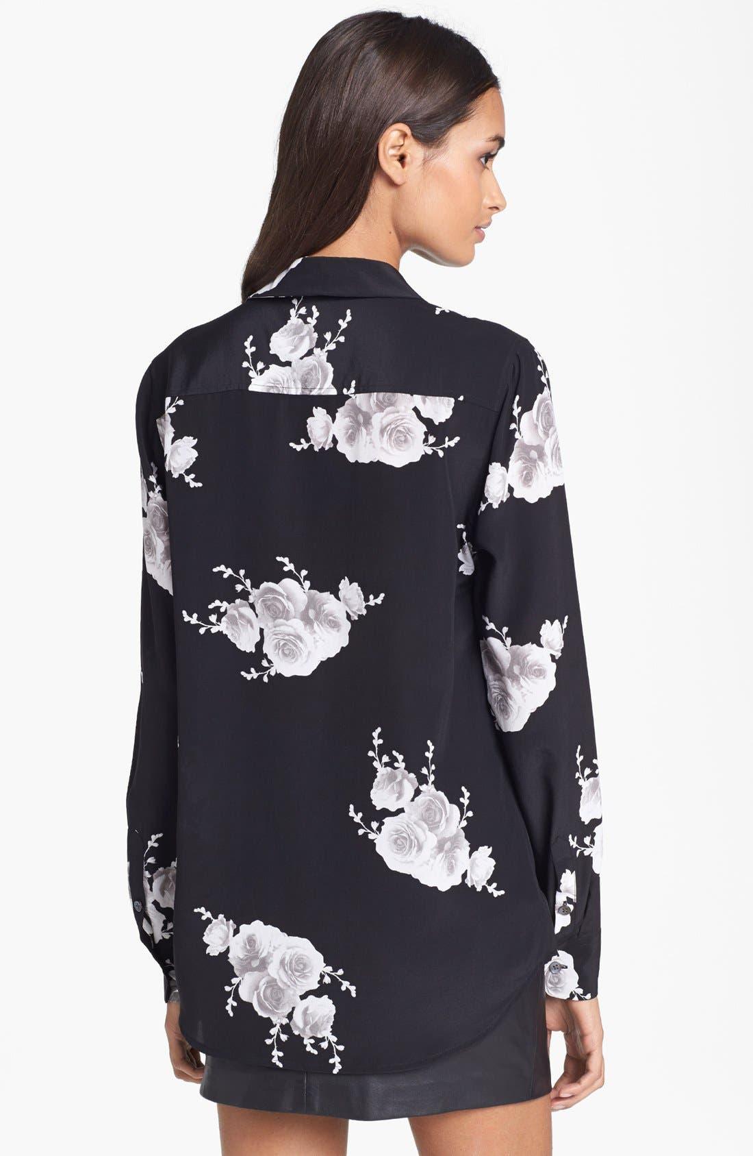 Alternate Image 2  - Equipment 'Adele' Print Silk Shirt