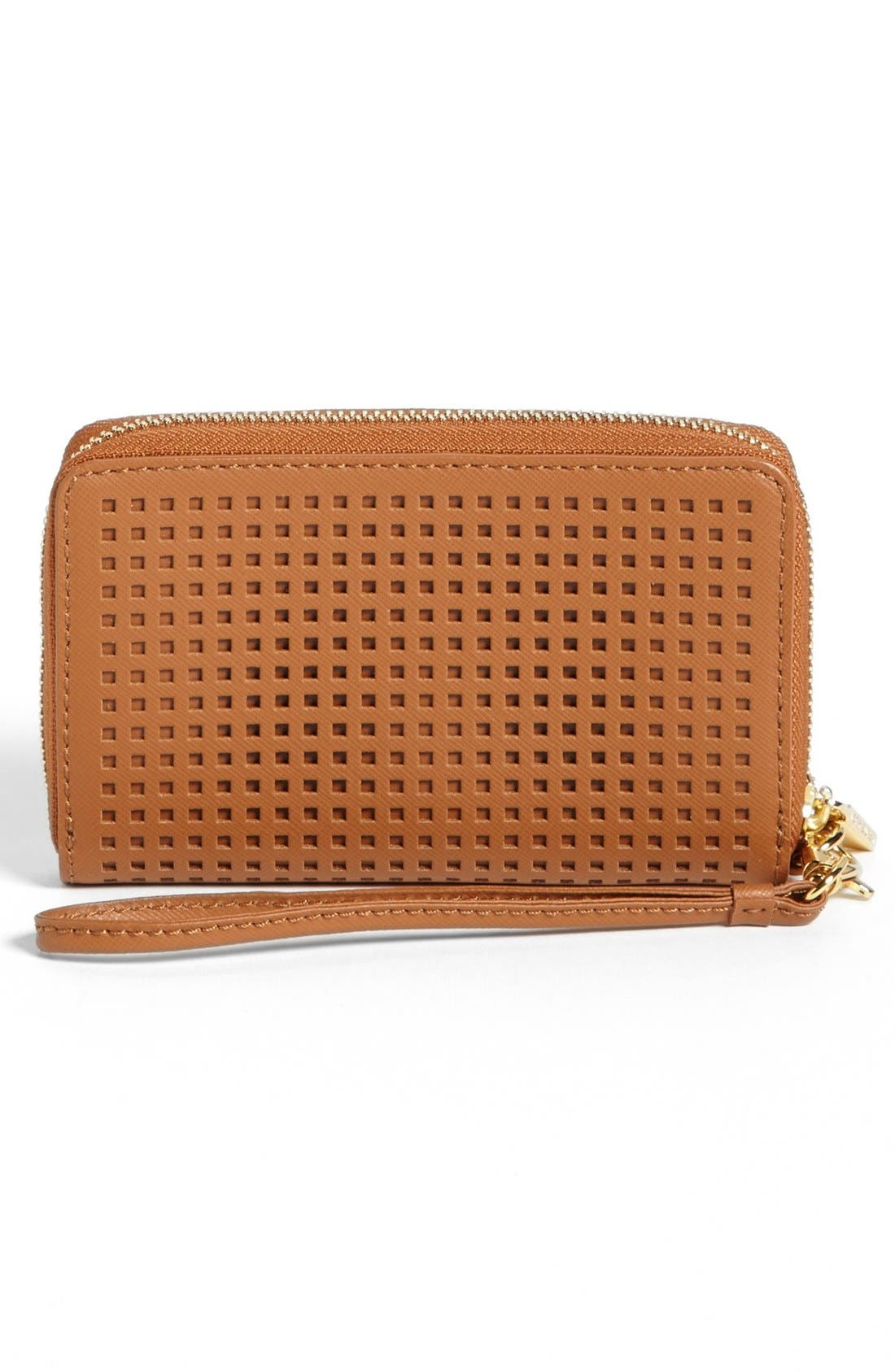 Alternate Image 3  - Tory Burch 'Robinson - Perf' Zip Continental Wallet