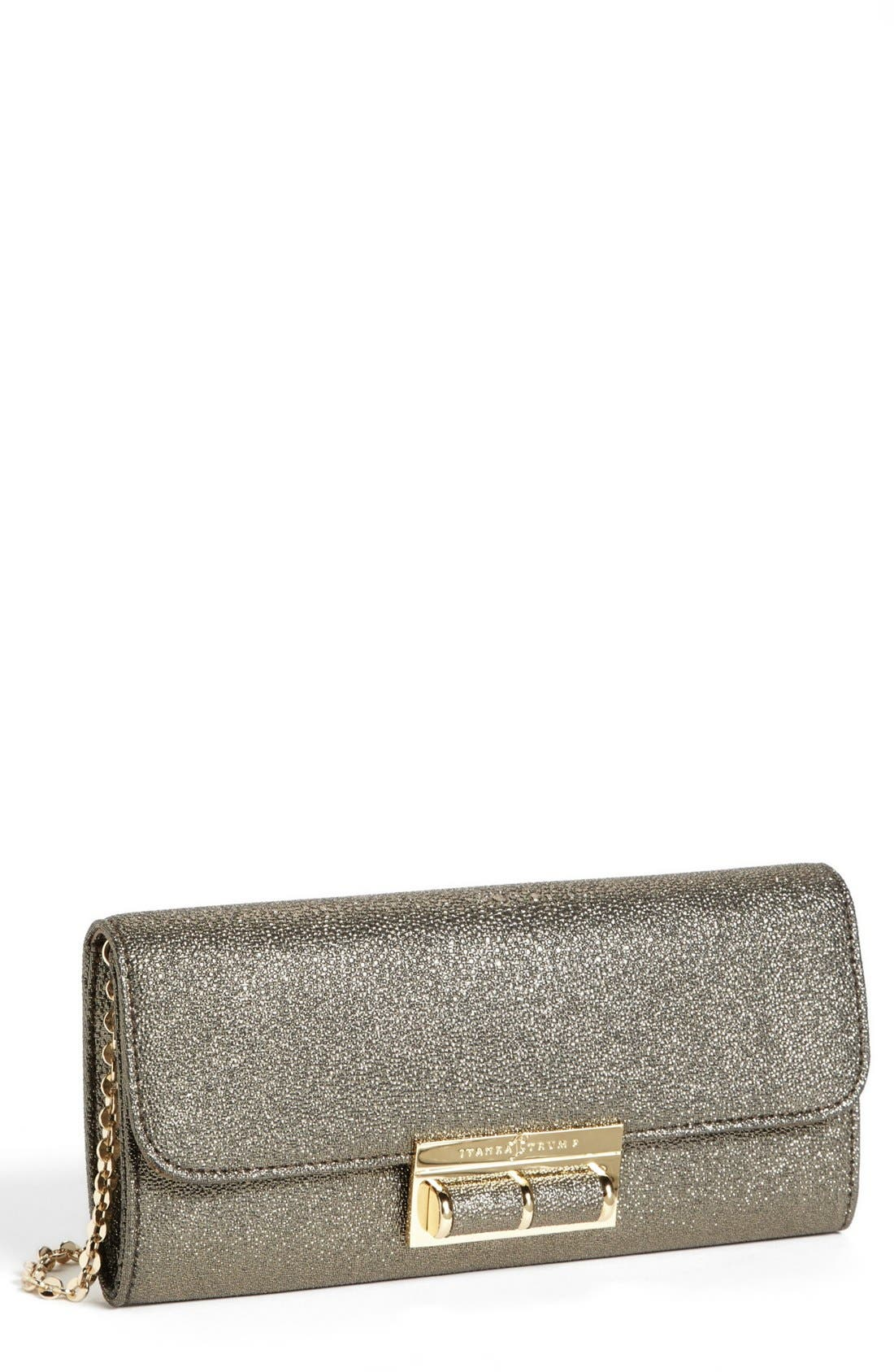 Main Image - Ivanka Trump Metallic Clutch