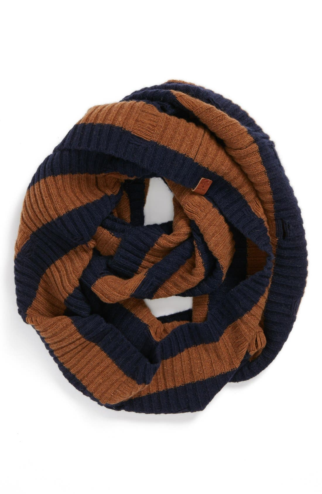 Main Image - Bickley + Mitchell Lambswool Blend Infinity Scarf