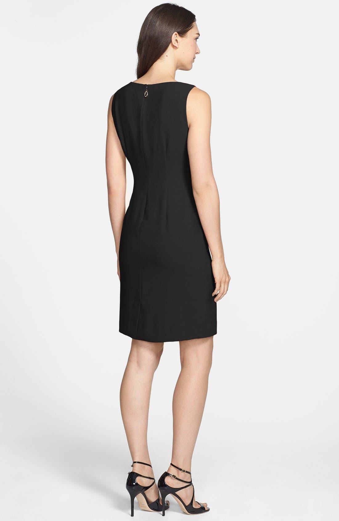 Alternate Image 2  - Ivanka Trump Asymmetrical Peplum Sheath Dress