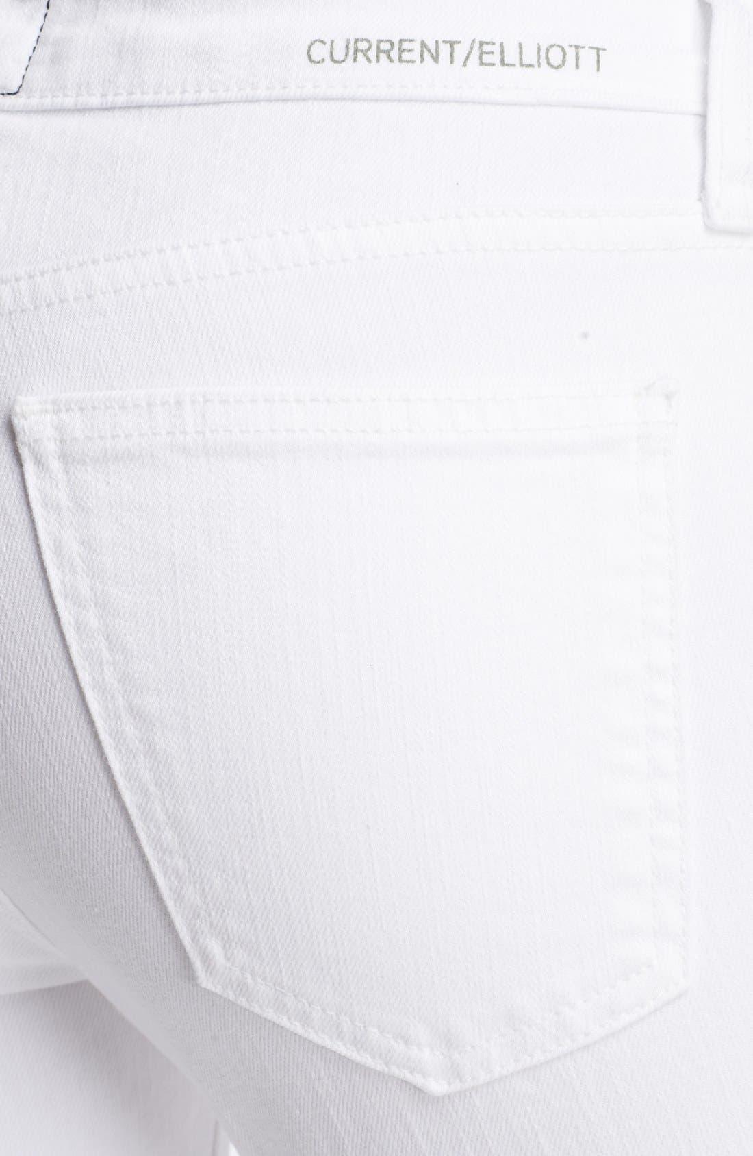 Alternate Image 3  - Current/Elliott 'The Stiletto' Jeans (Sugar)