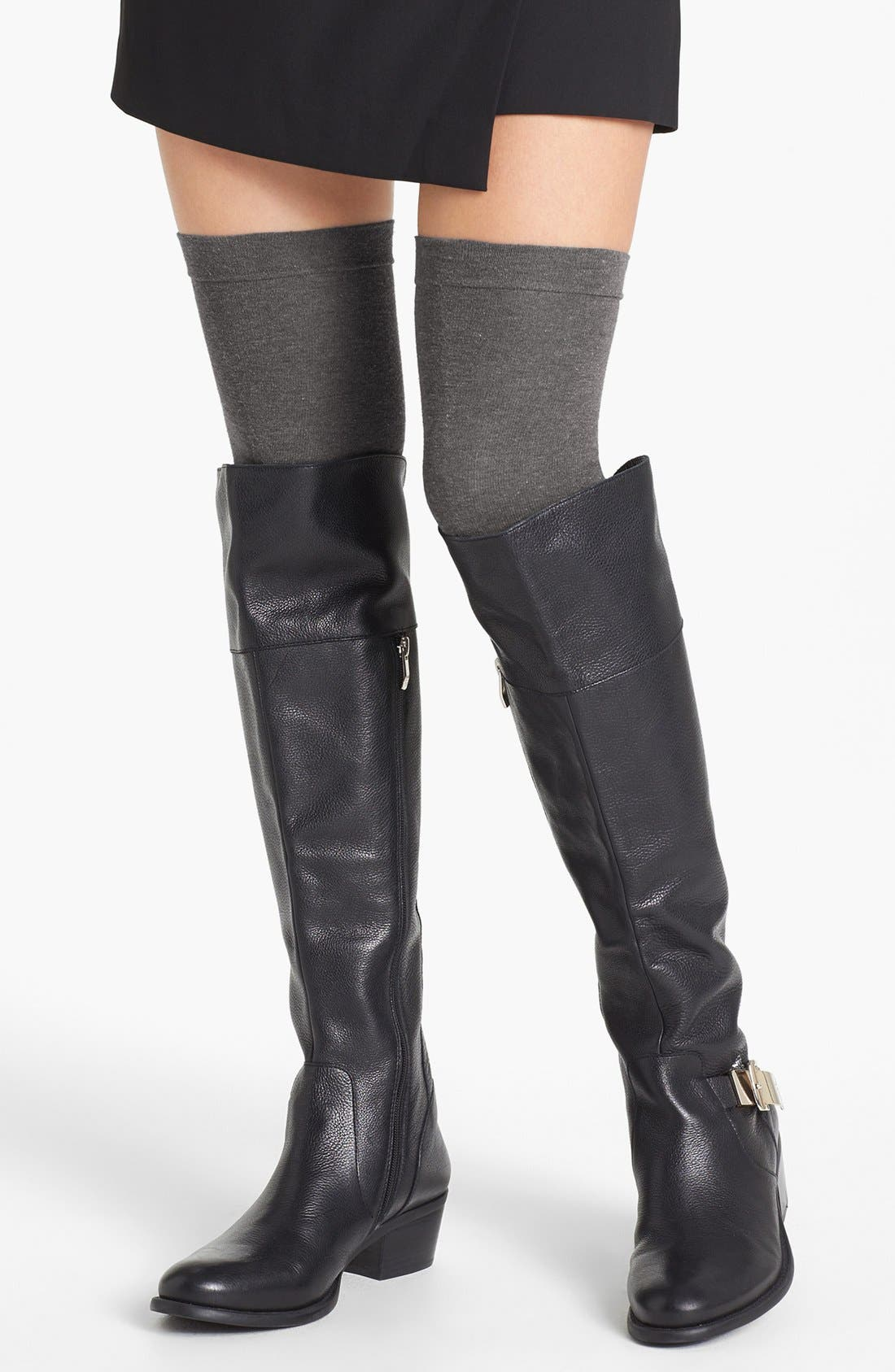 Main Image - Hue 'Tall & Skinny' Over the Knee Socks