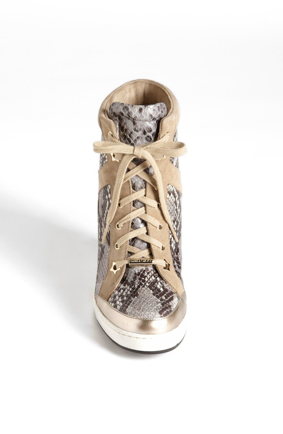 Alternate Image 4  - Jimmy Choo 'Panama' Wedge Sneaker