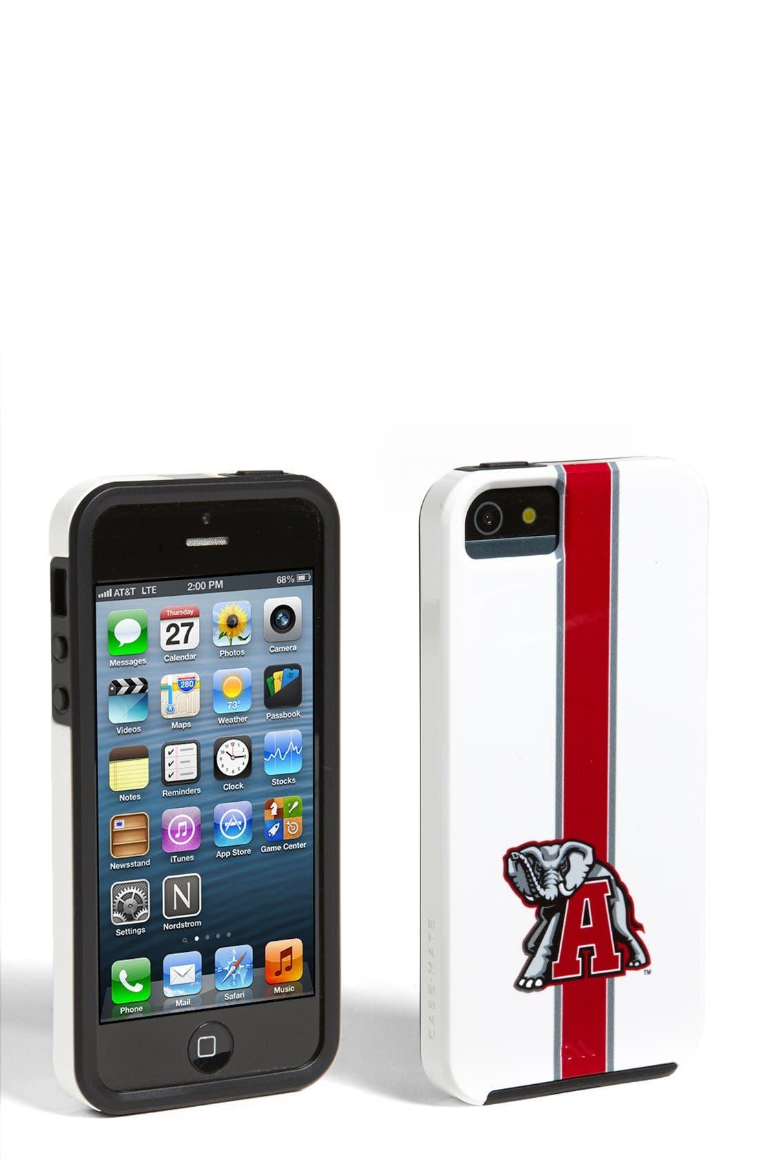 Alternate Image 1 Selected - Case-Mate® 'University of Alabama Crimson Tide' iPhone 5 & 5s Case