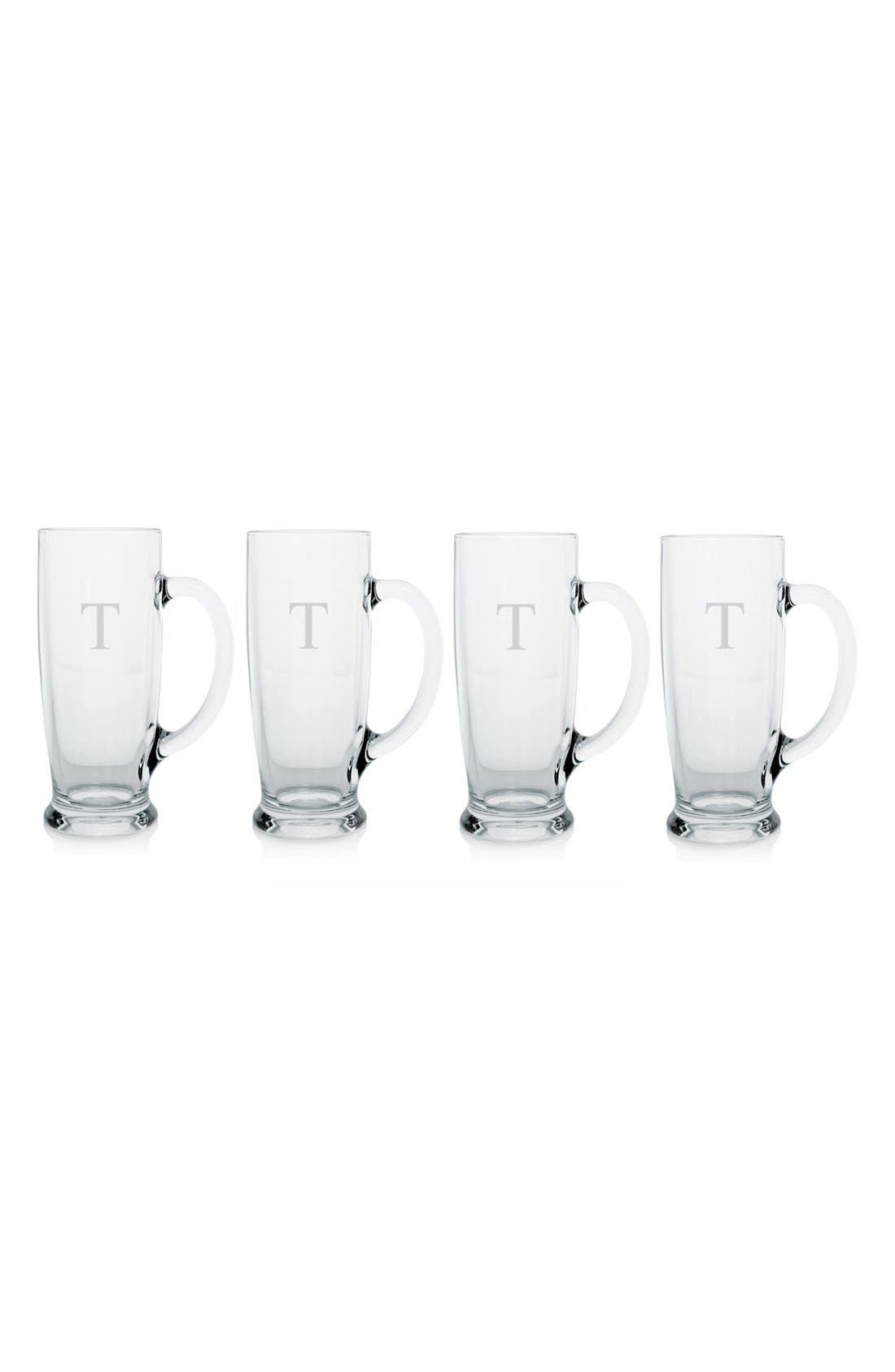 Cathy's Concepts Personalized Craft Beer Mugs (Set of 4)