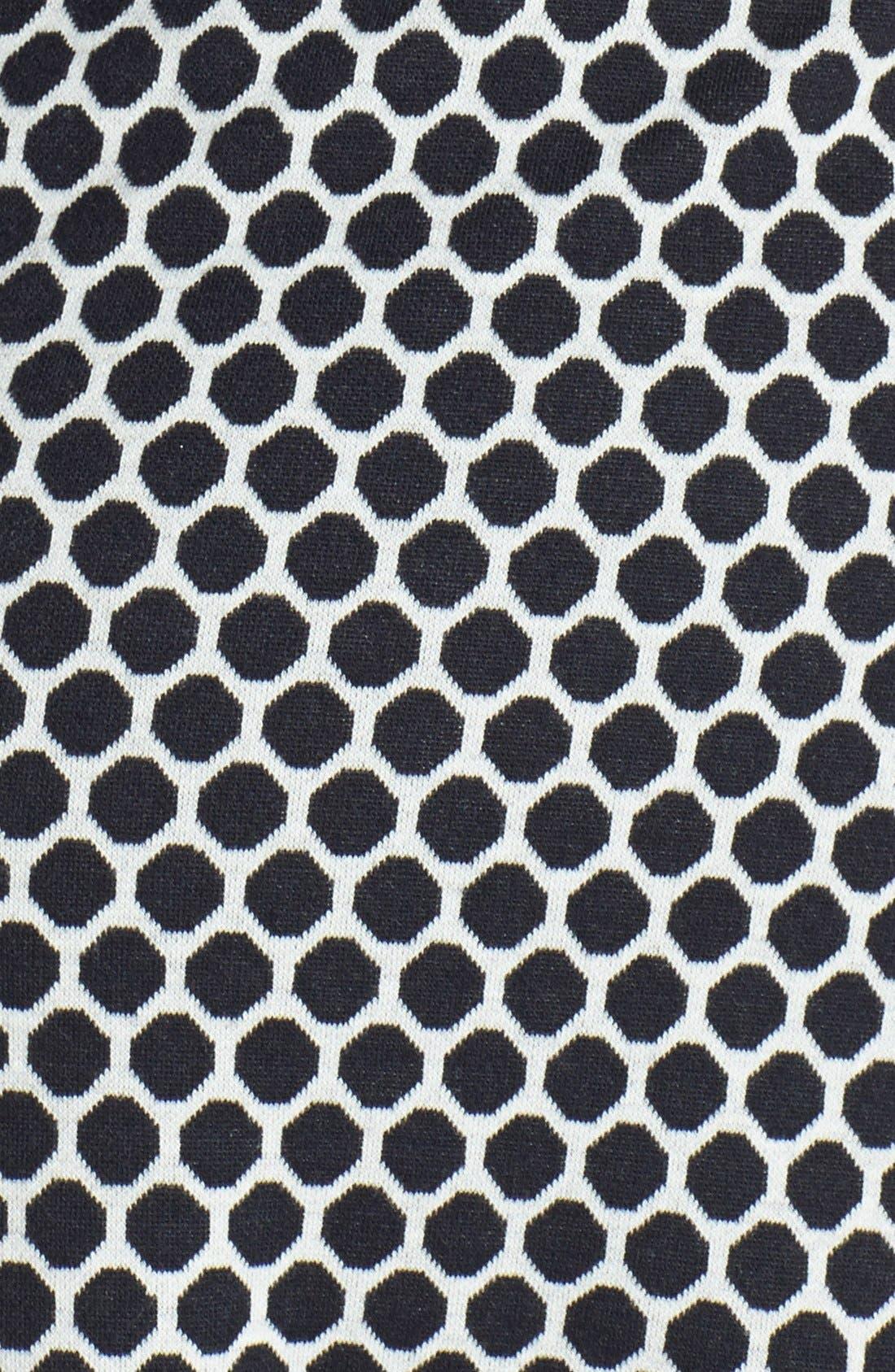 Alternate Image 3  - Anne Klein Pattern Ponte Fit & Flare Dress (Plus Size)