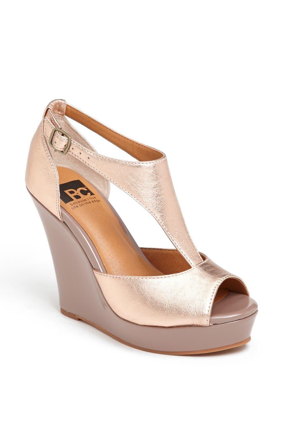 Main Image - BC Footwear 'Lickety Split' Wedge Sandal