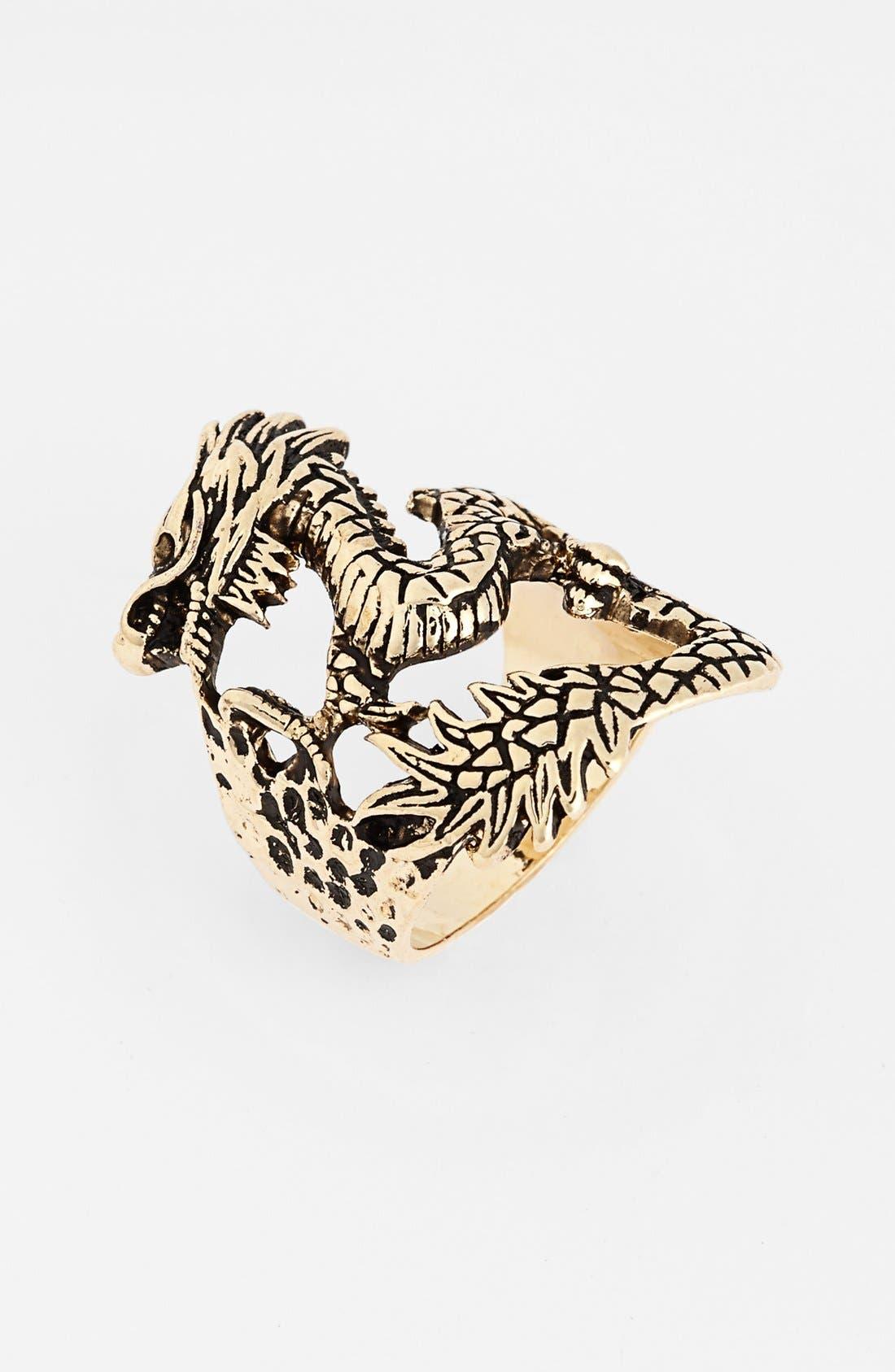 Alternate Image 1 Selected - Natasha Couture 'Dragon' Statement Ring