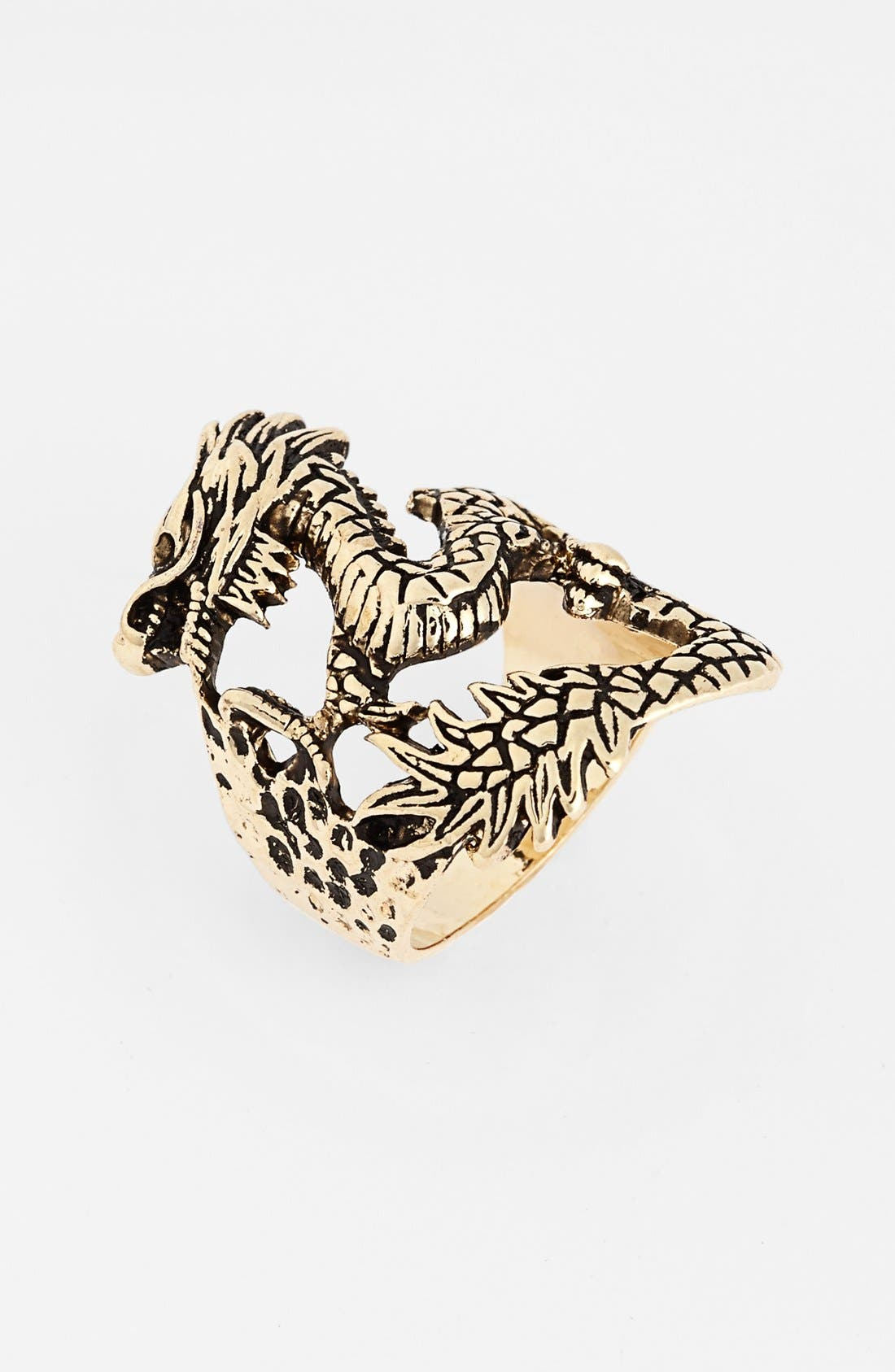 Main Image - Natasha Couture 'Dragon' Statement Ring