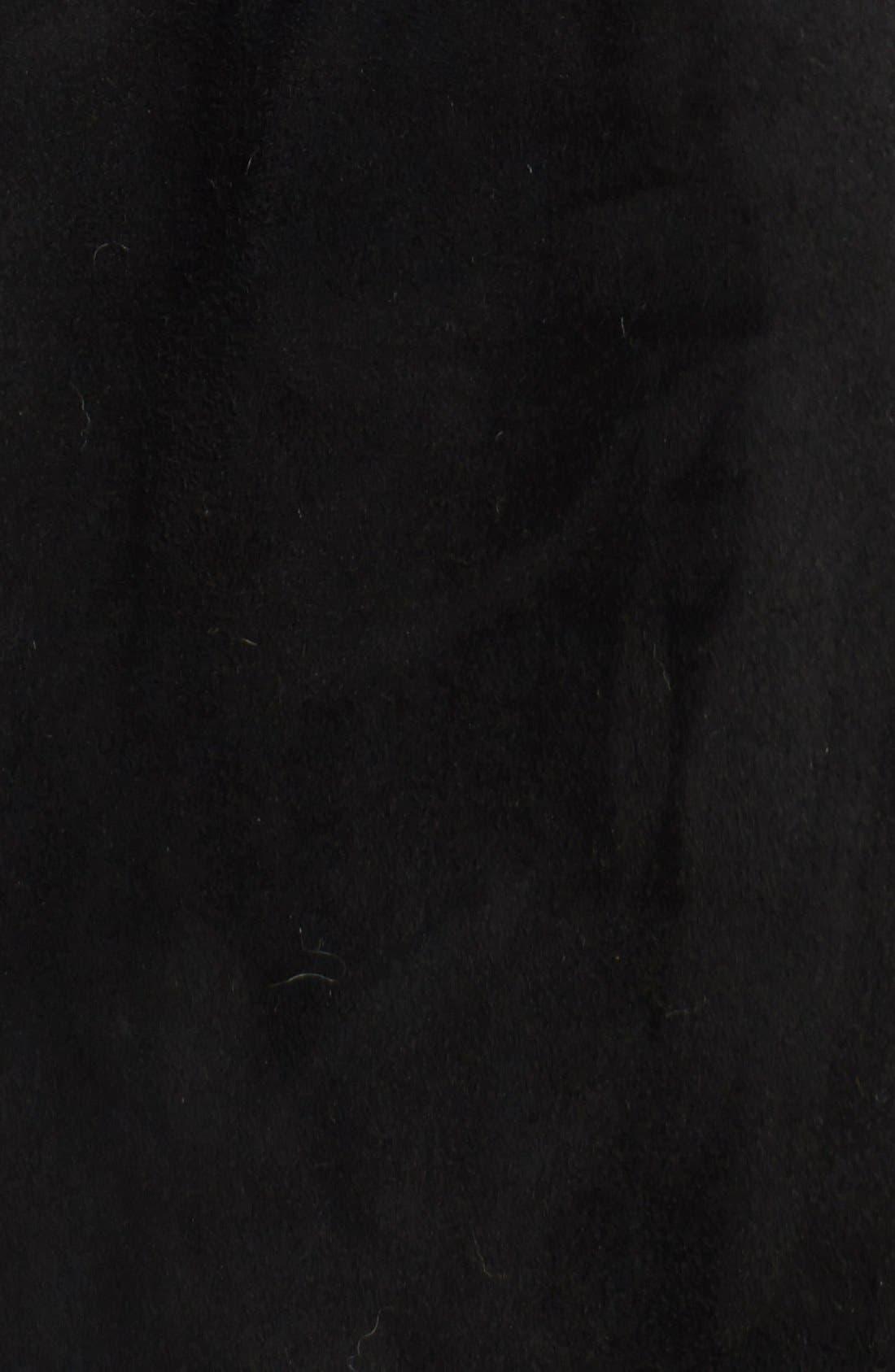 Alternate Image 3  - Blue Duck Genuine Shearling Hooded Coat (Plus Size)