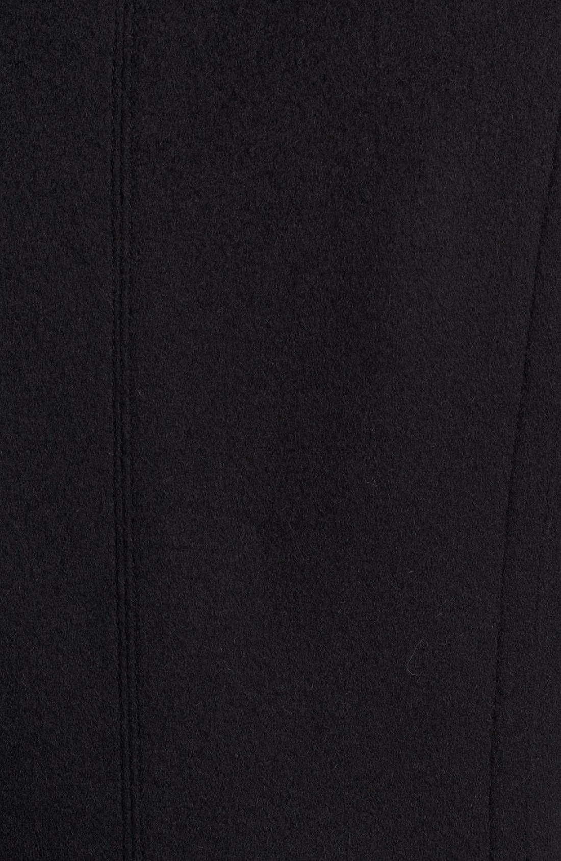 Alternate Image 3  - Burberry London Pleated Back Wool & Cashmere Coat