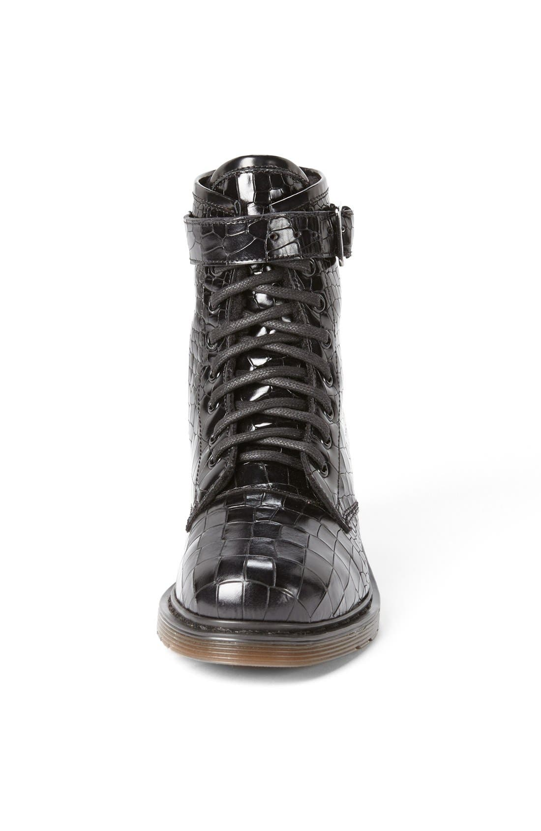 Alternate Image 3  - Kurt Geiger London 'Steell' Croc Embossed Leather Boot