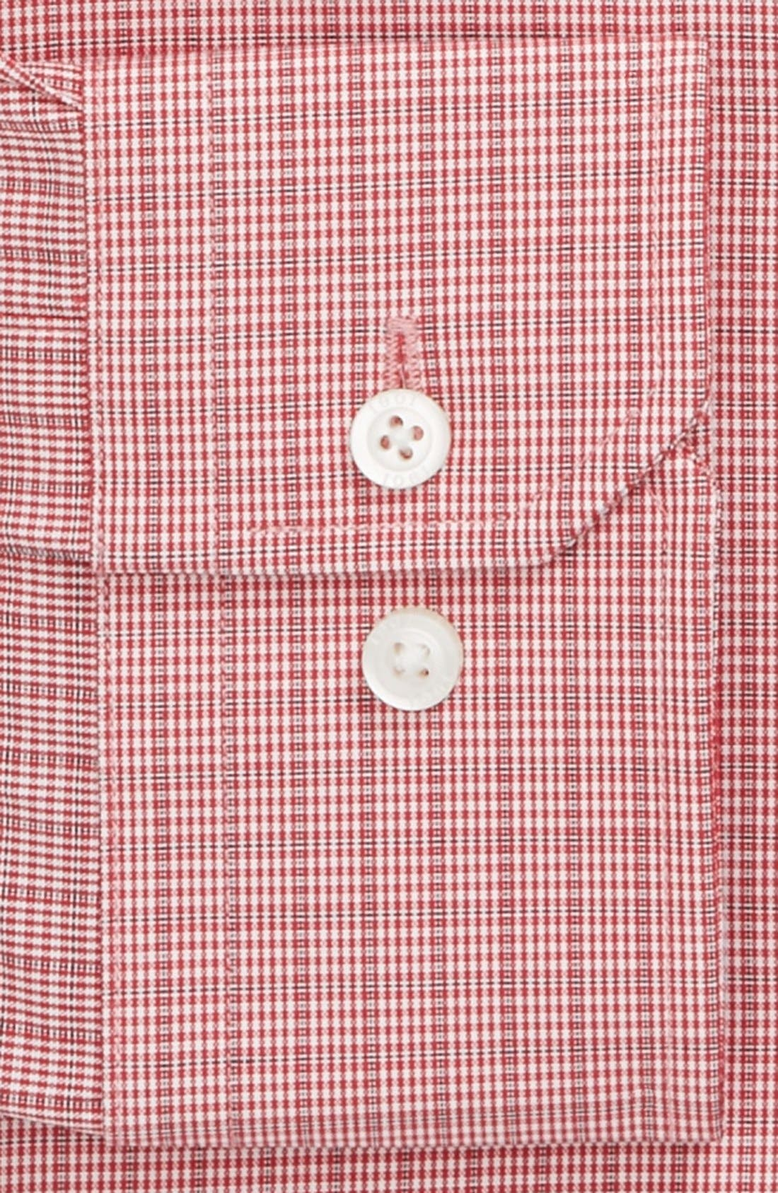 Alternate Image 2  - 1901 Trim Fit Plaid Dress Shirt