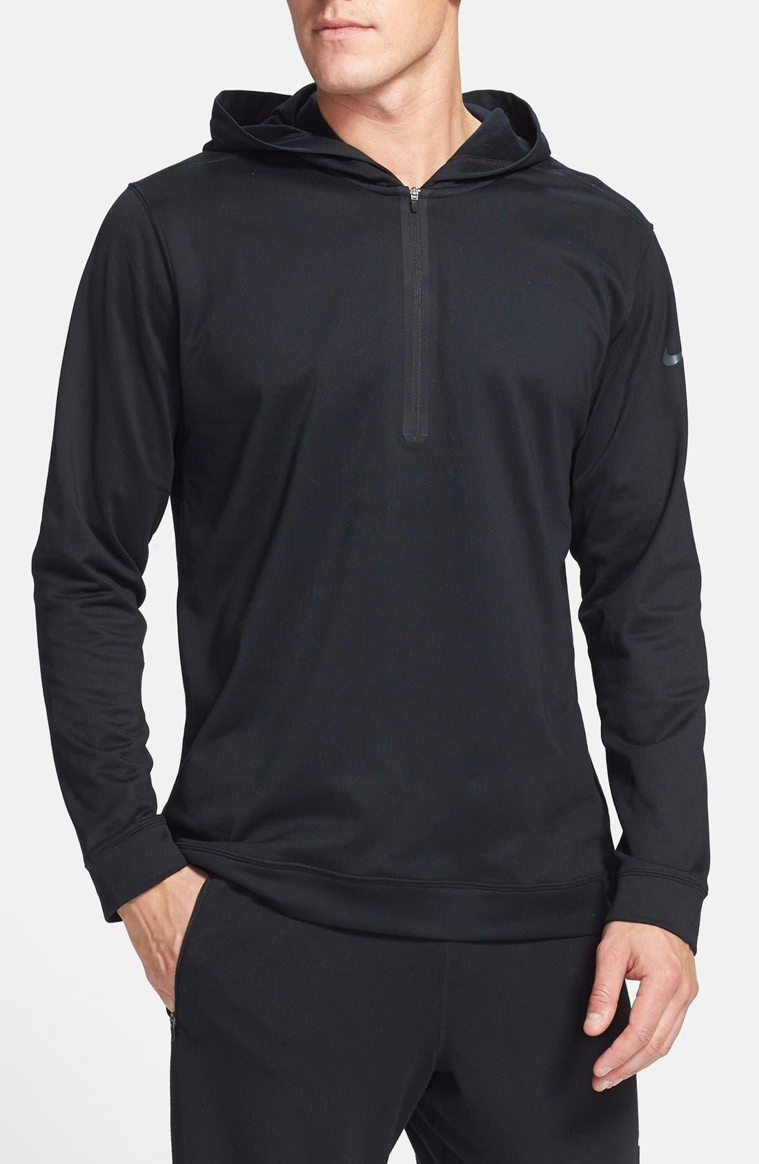 Alternate Image 1 Selected - Nike Half Zip Dri-FIT Hoodie