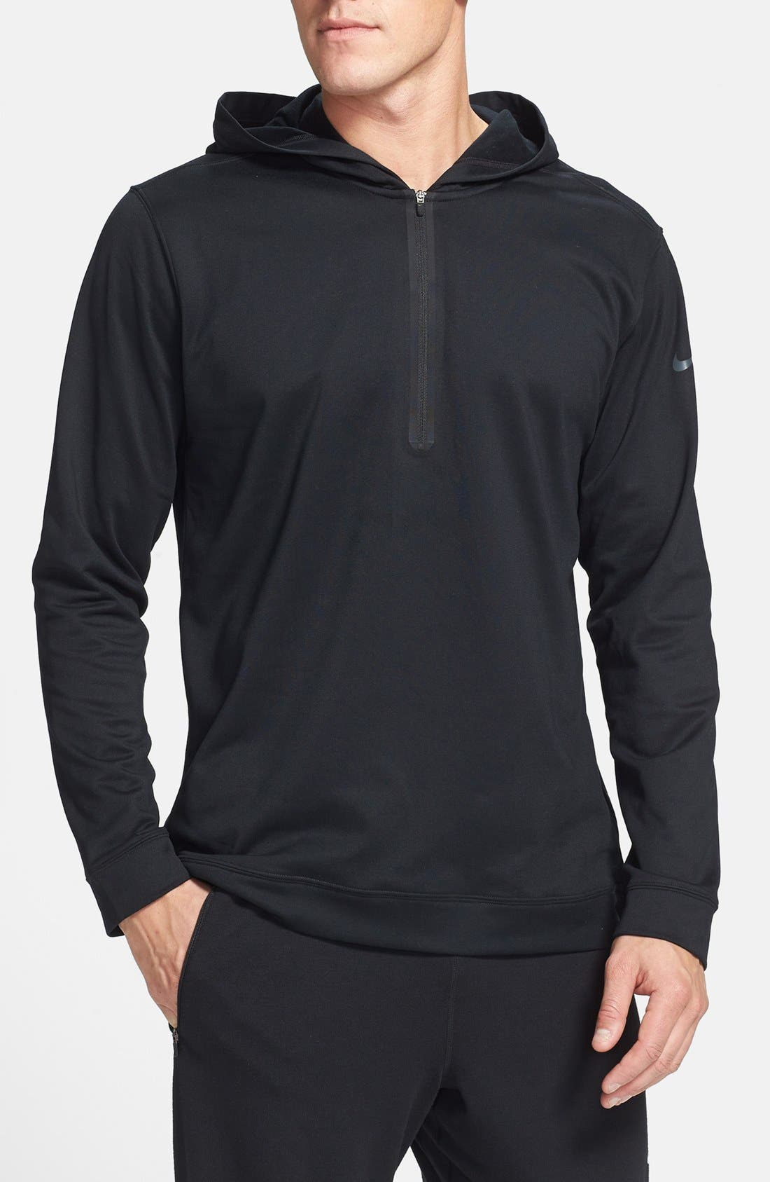 Main Image - Nike Half Zip Dri-FIT Hoodie