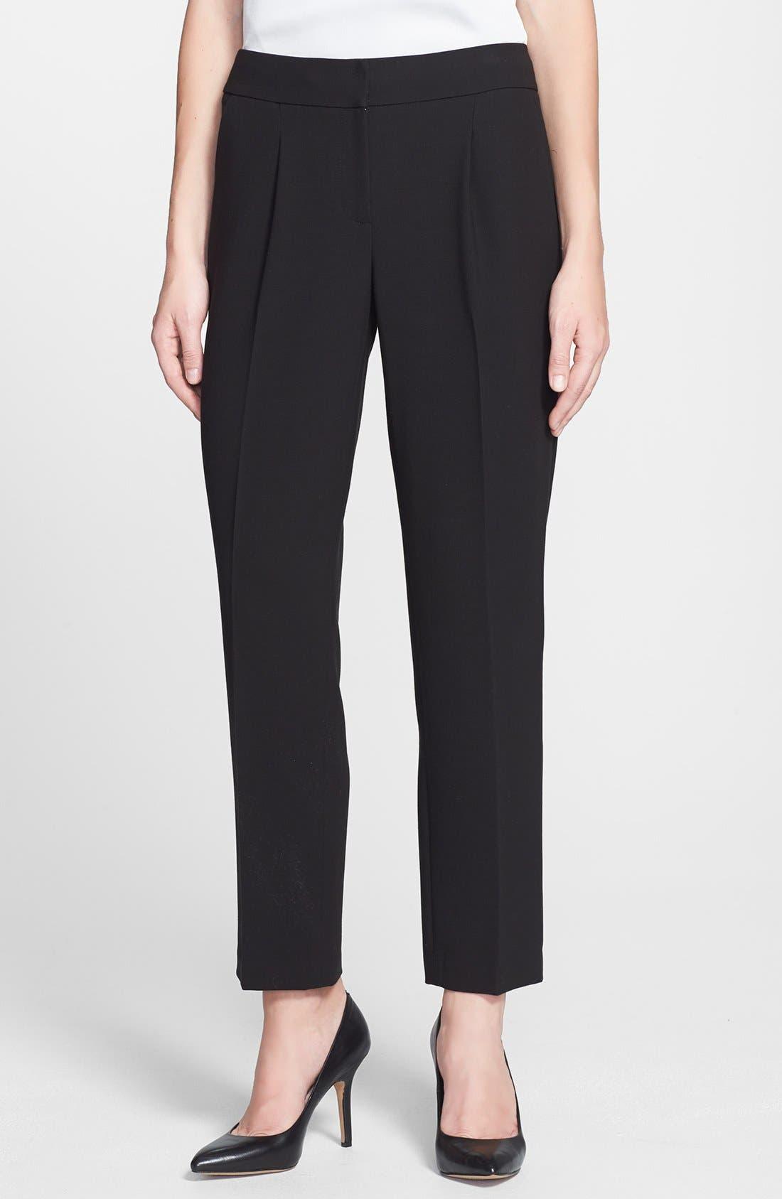 Alternate Image 1 Selected - Classiques Entier® 'Lavish Drape' Ankle Pants