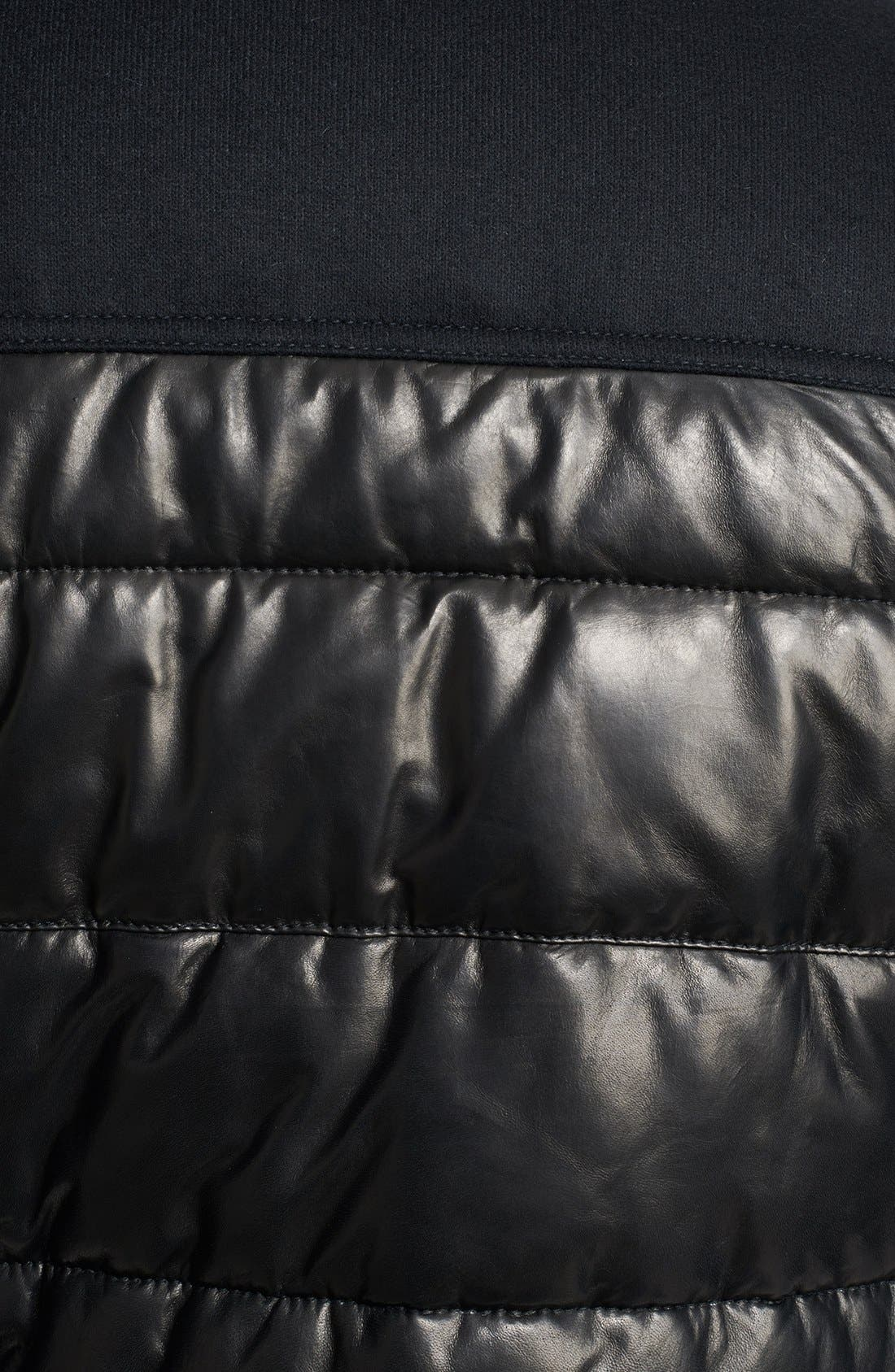 Alternate Image 3  - Neil Barrett Leather Puffer Jacket