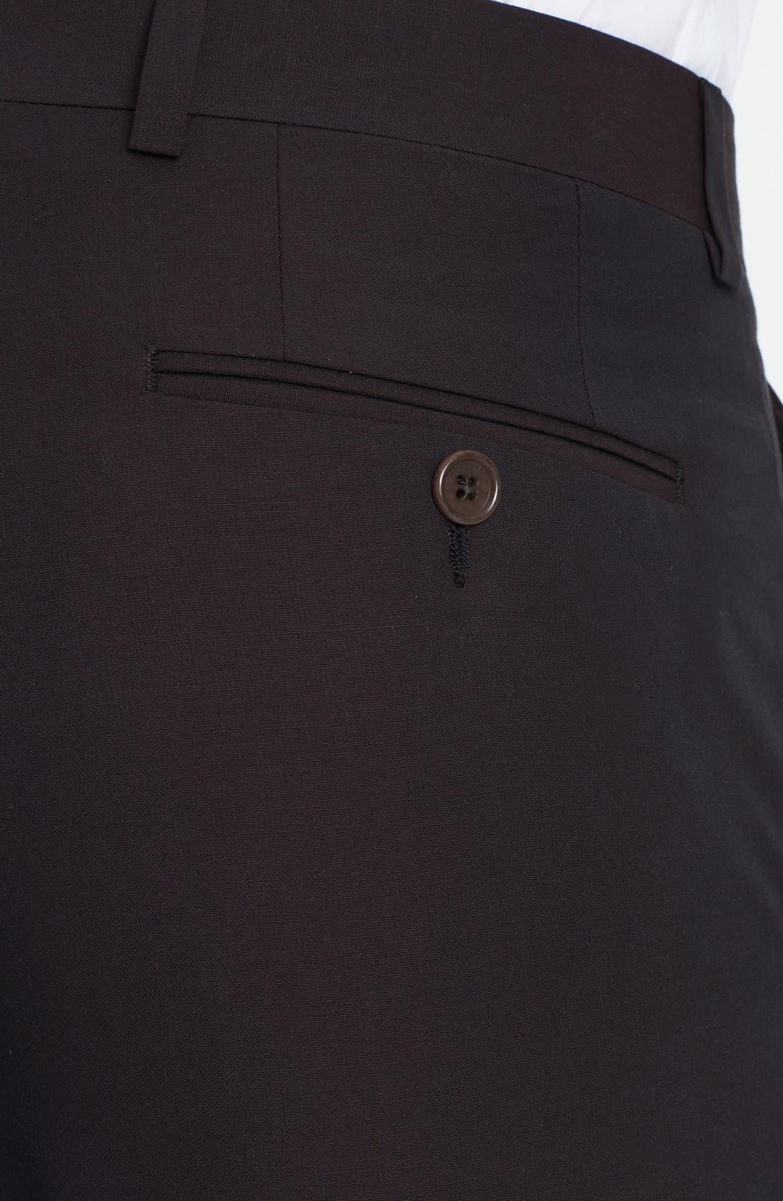 Alternate Image 3  - John Varvatos Star USA Flat Front Trousers
