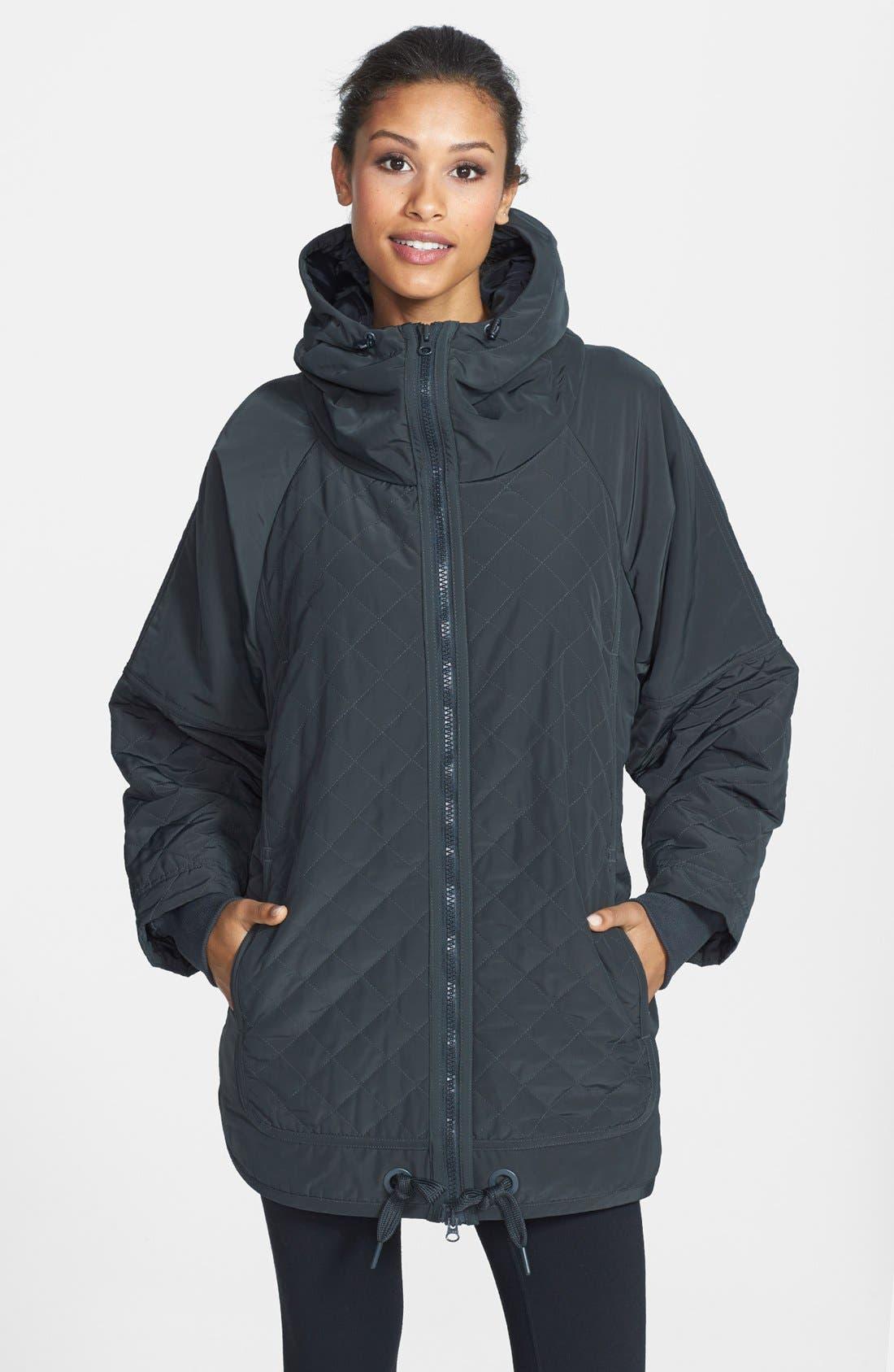 Alternate Image 1 Selected - adidas by Stella McCartney 'Wintersport' Hooded Jacket