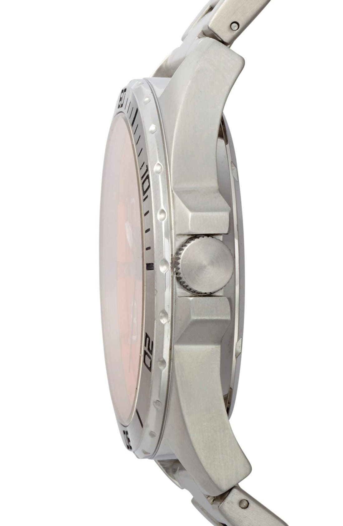Alternate Image 3  - BOSS Orange 'Big Time' Multifunction Bracelet Watch, 48mm