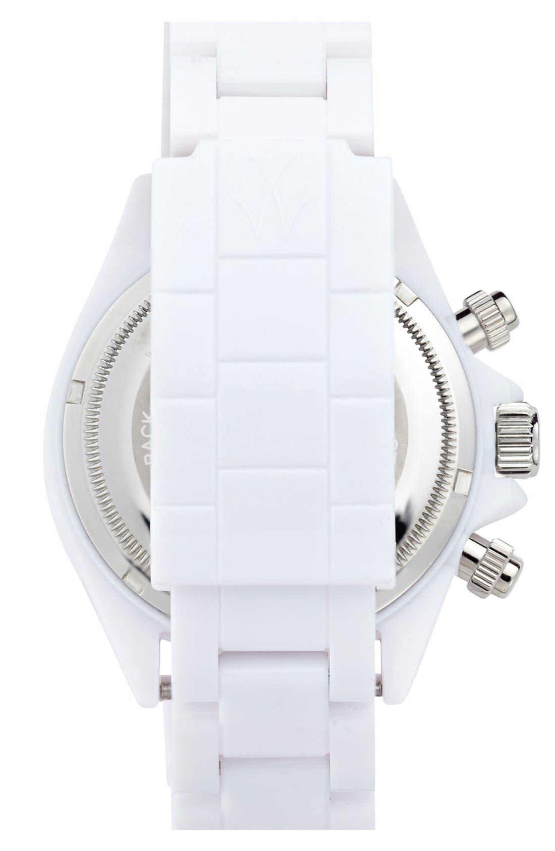 Alternate Image 2  - TOYWATCH 'Monochrome Chrono' Bracelet Watch, 41mm