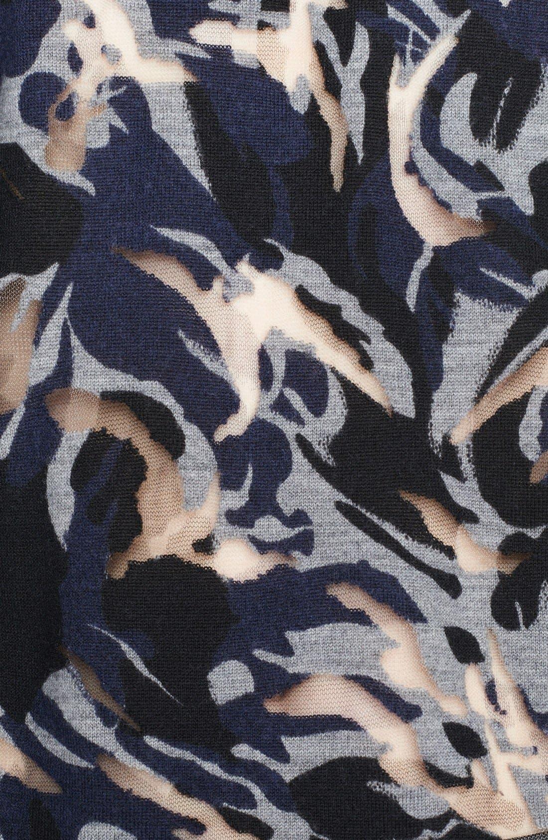 Alternate Image 3  - The Kooples Burnout Asymmetrical Sweater