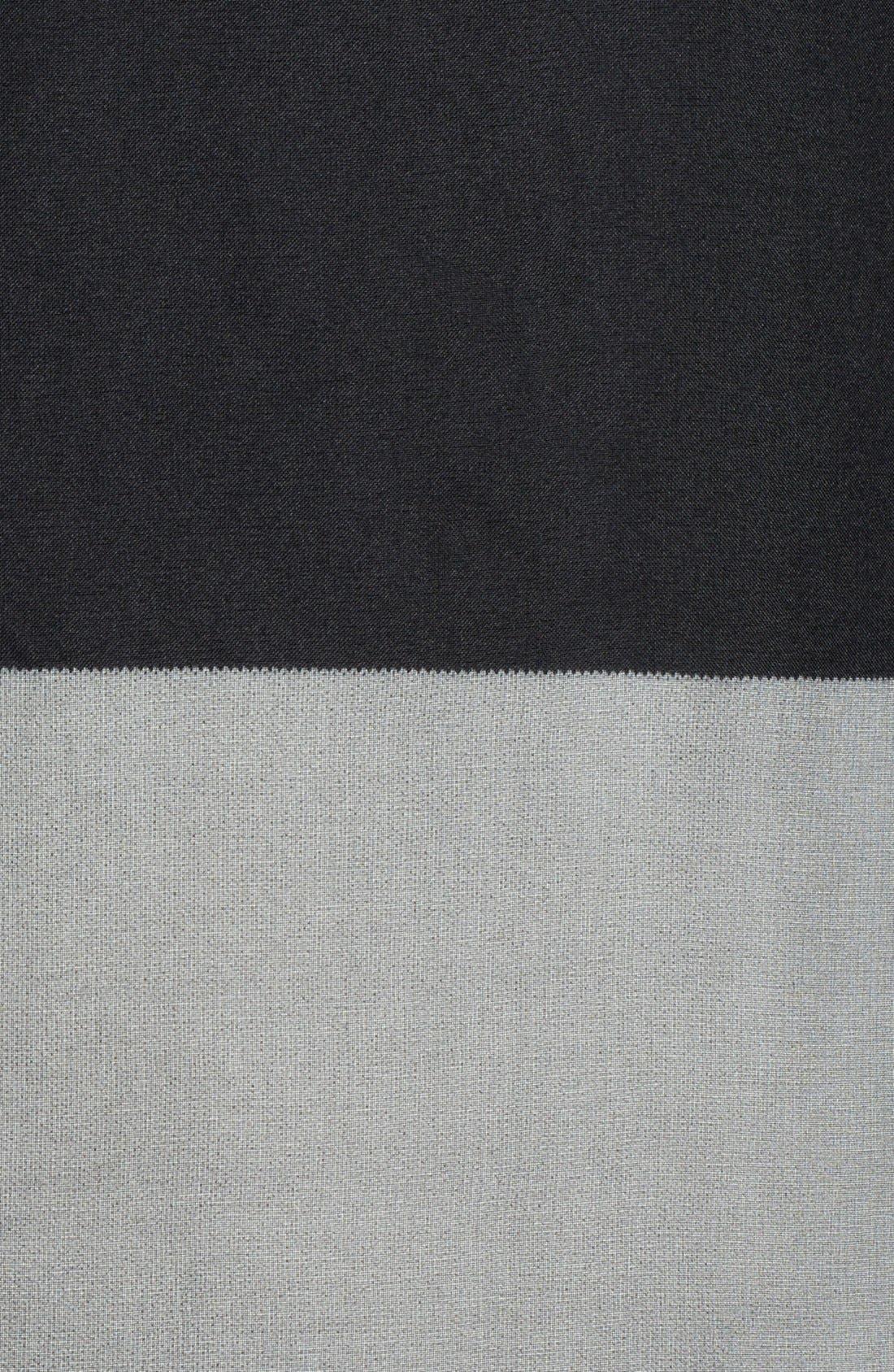 Alternate Image 3  - T by Alexander Wang Organza Overlay Stripe T-Shirt Dress