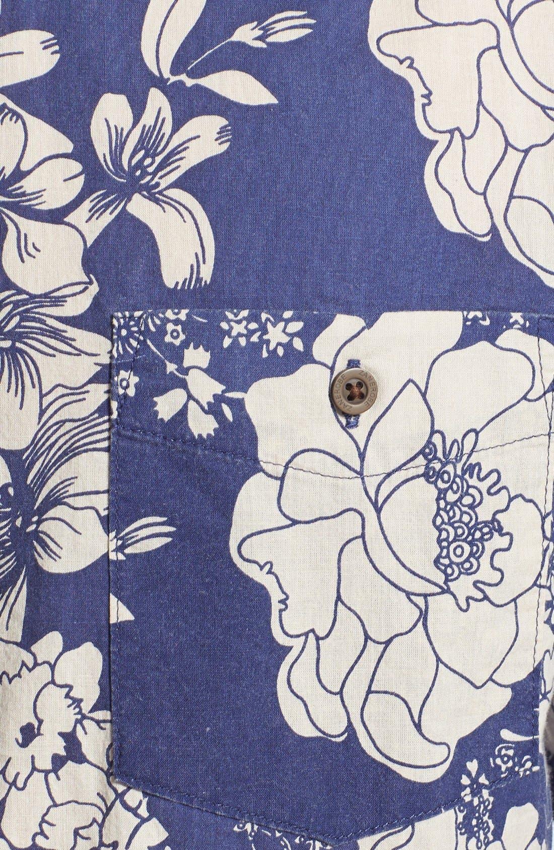 Alternate Image 3  - ZANEROBE Print Cotton Shirt