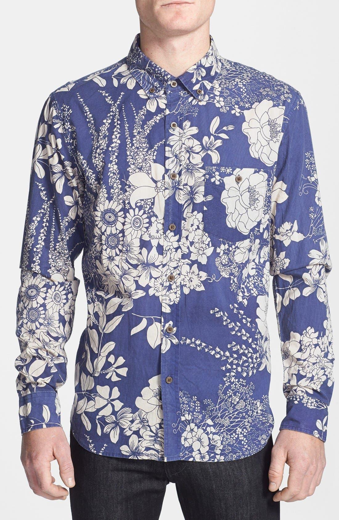 Alternate Image 1 Selected - ZANEROBE Print Cotton Shirt