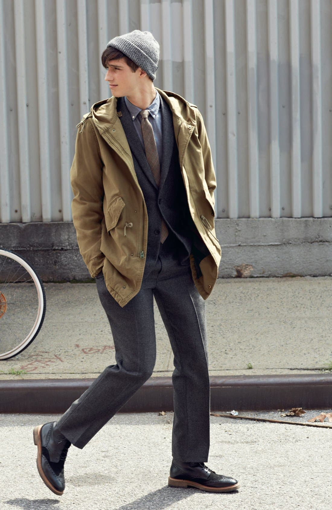 Alternate Image 6  - rag & bone Trim Fit Wool Suit
