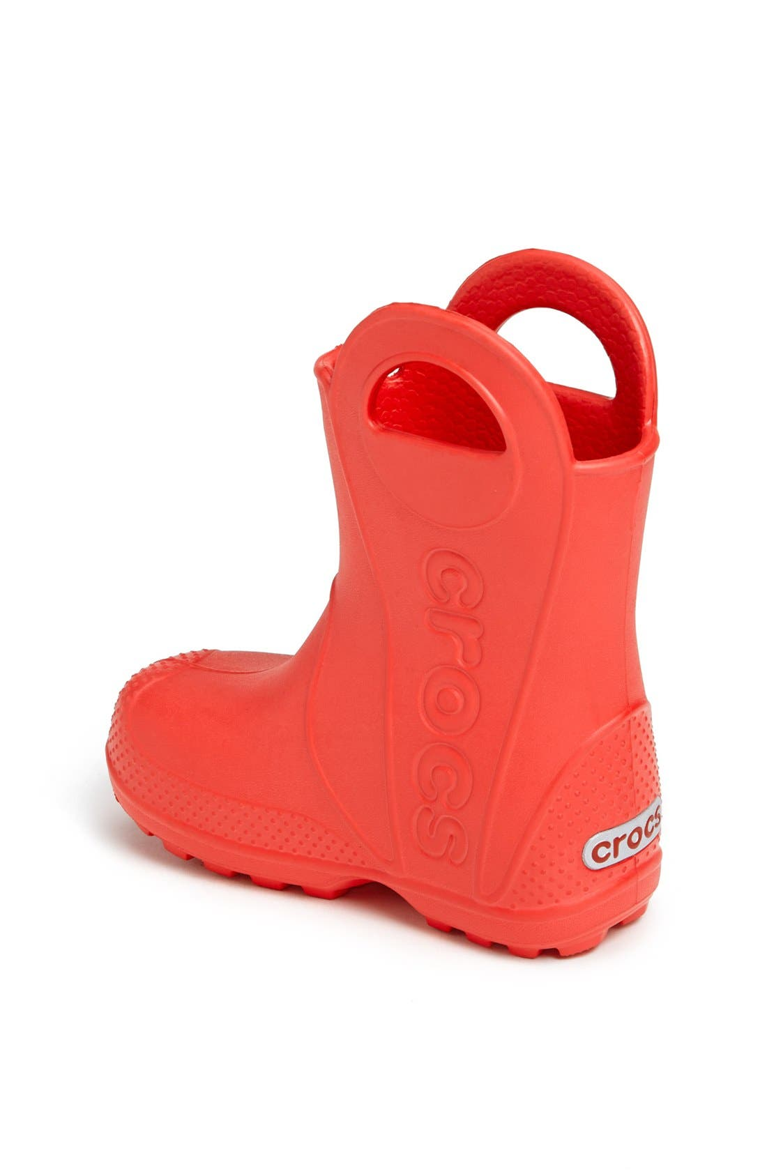 Alternate Image 2  - CROCS™ 'Lightning McQueen' Rain Boot (Walker, Toddler & Little Kid)