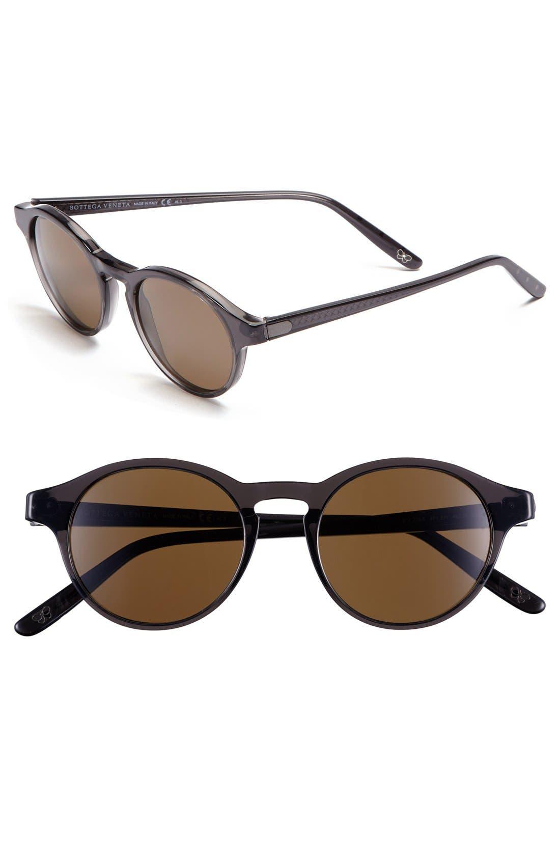 Alternate Image 1 Selected - Bottega Veneta 49mm Retro Sunglasses