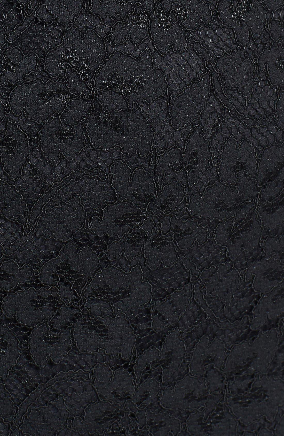 Alternate Image 3  - Diane von Furstenberg 'Bailey' Piped Lace Strapless Dress