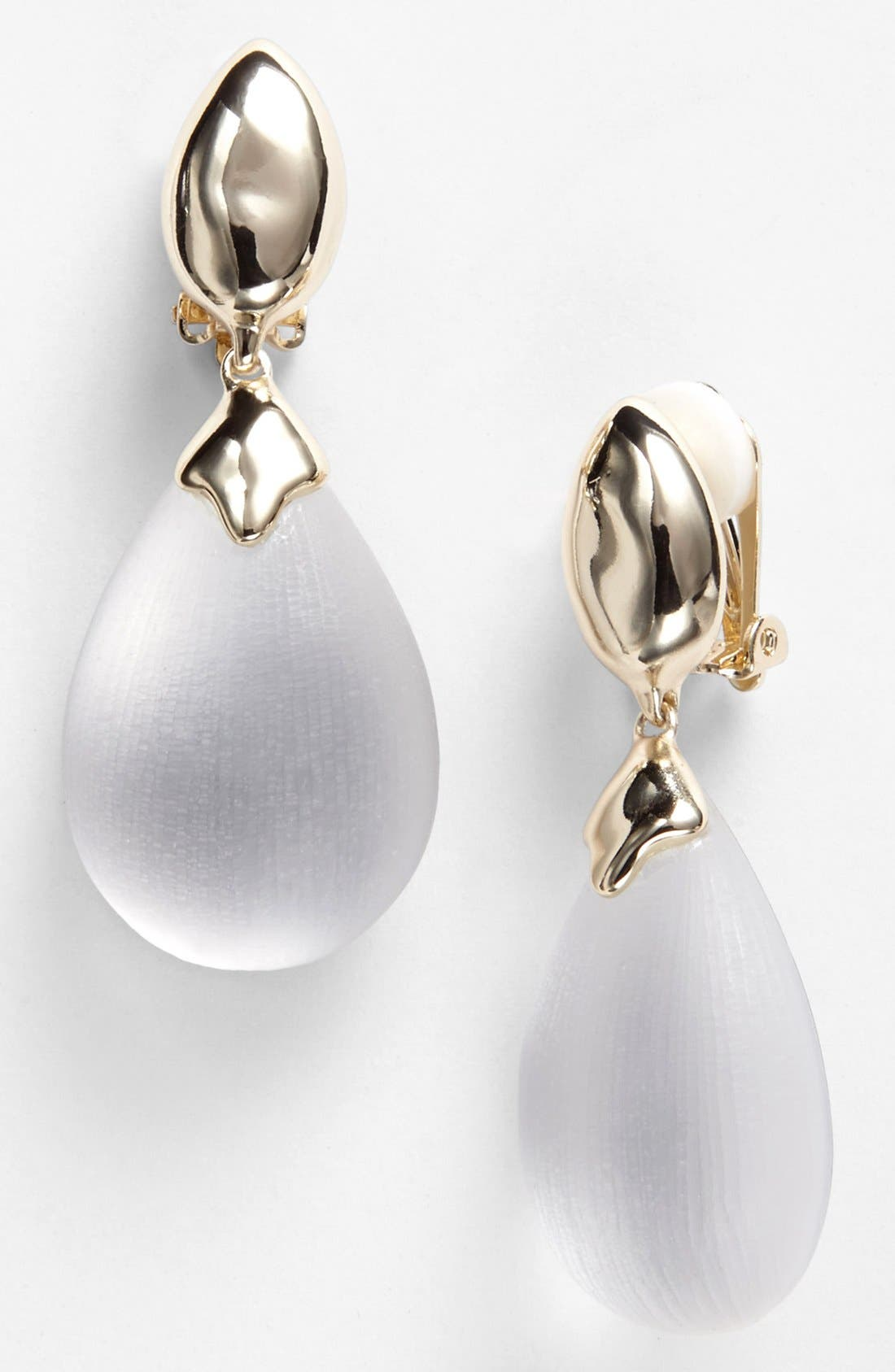 Alternate Image 1 Selected - Alexis Bittar 'Lucite®' Drop Clip Earrings