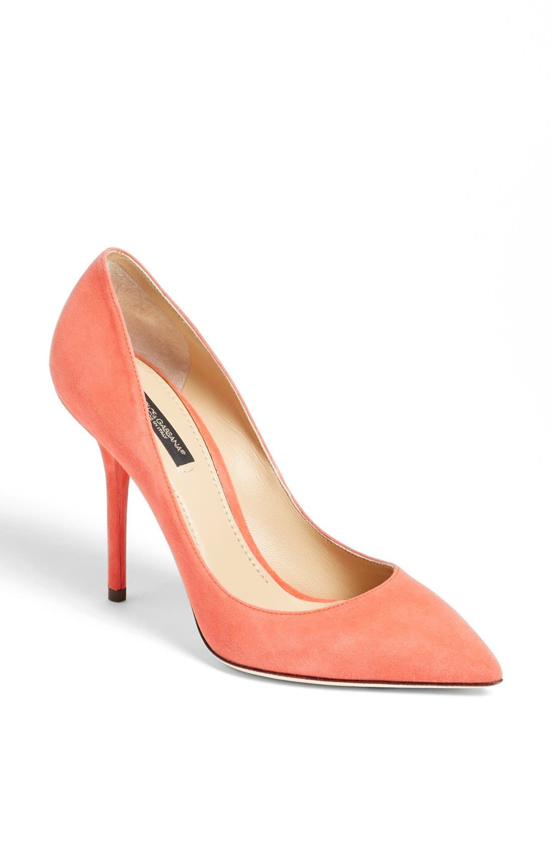 Alternate Image 1 Selected - Dolce&Gabbana Pointy Toe Pump