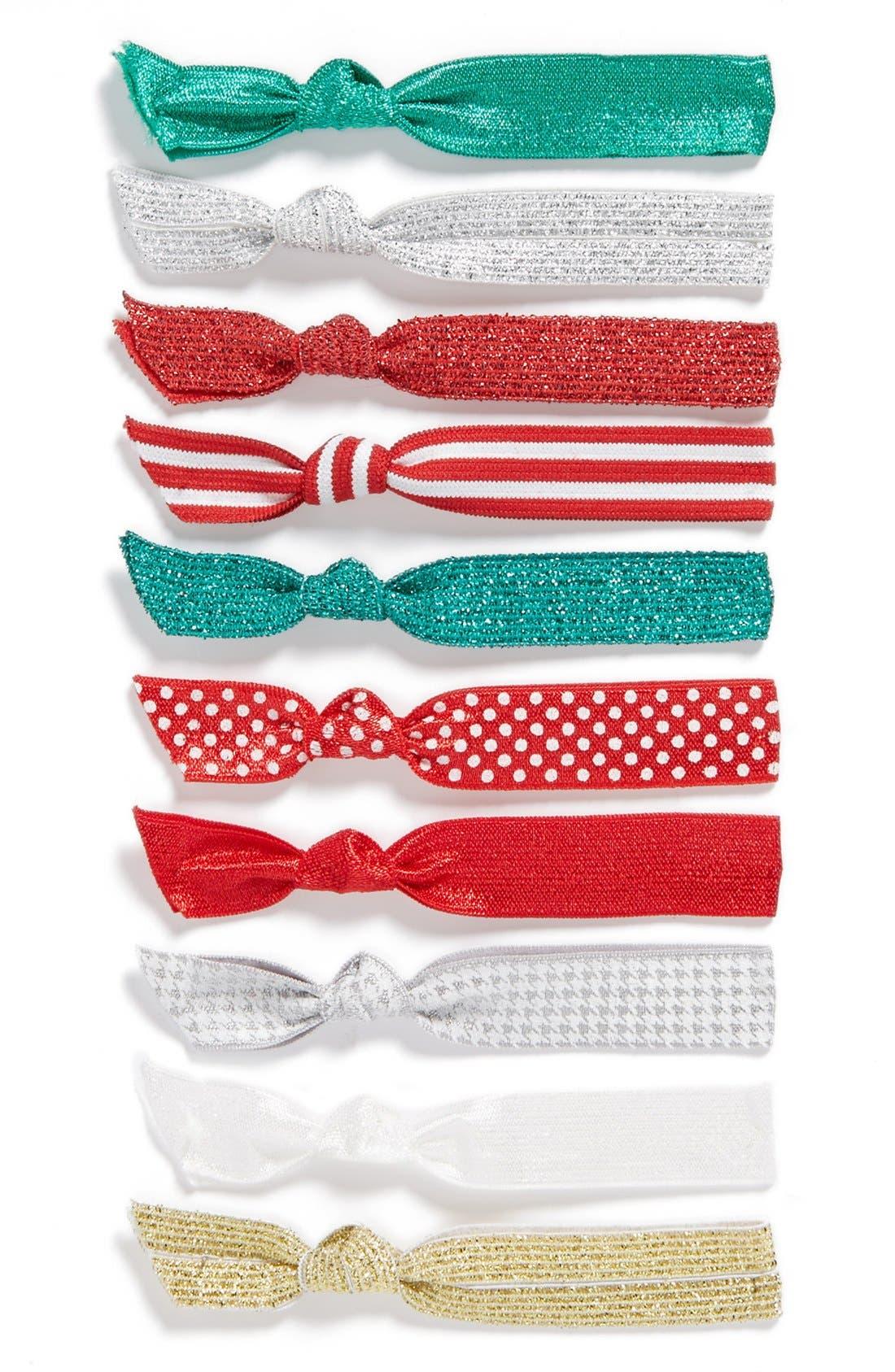 Main Image - Emi-Jay Hair Tie Ornament (Set of 10)