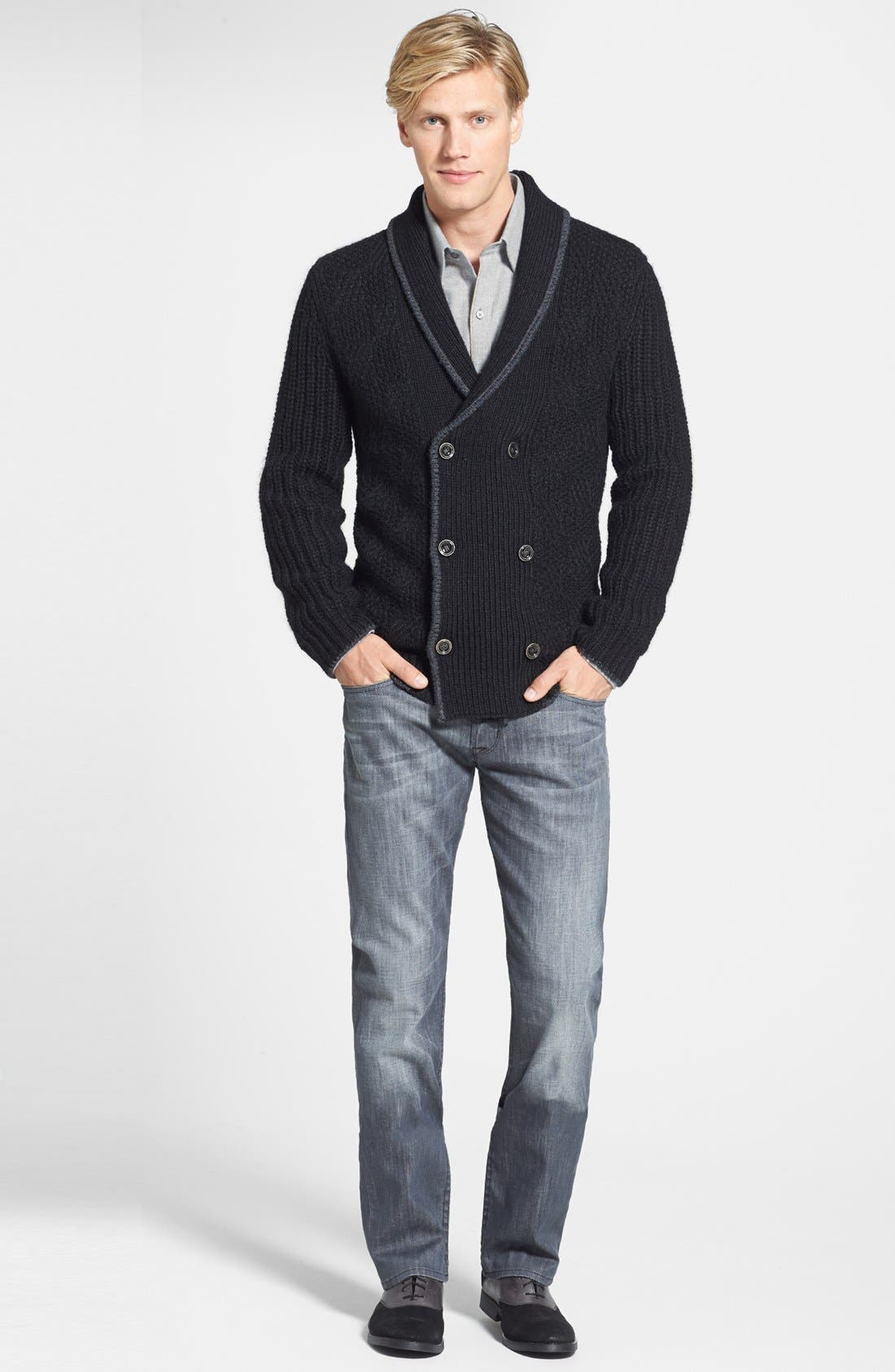 Alternate Image 4  - Tommy Bahama 'Hudson Square' Regular Fit Cardigan