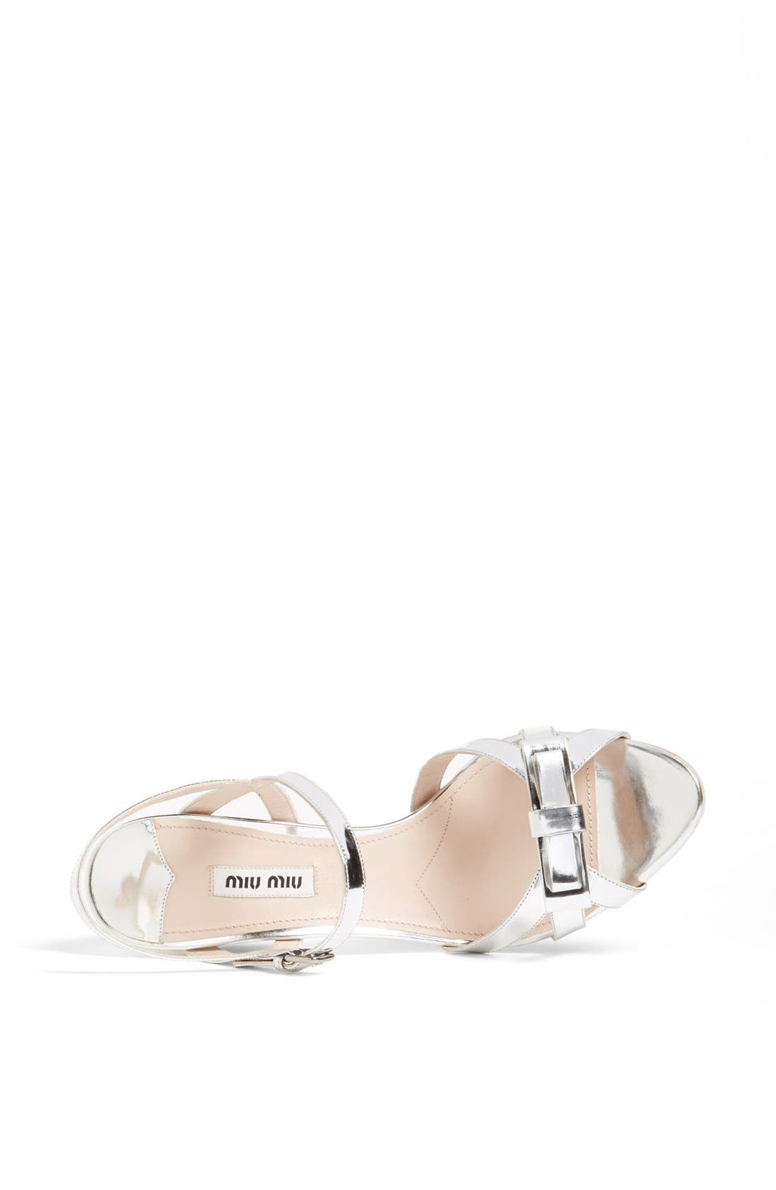 Alternate Image 3  - Miu Miu Bow Ankle Strap Sandal