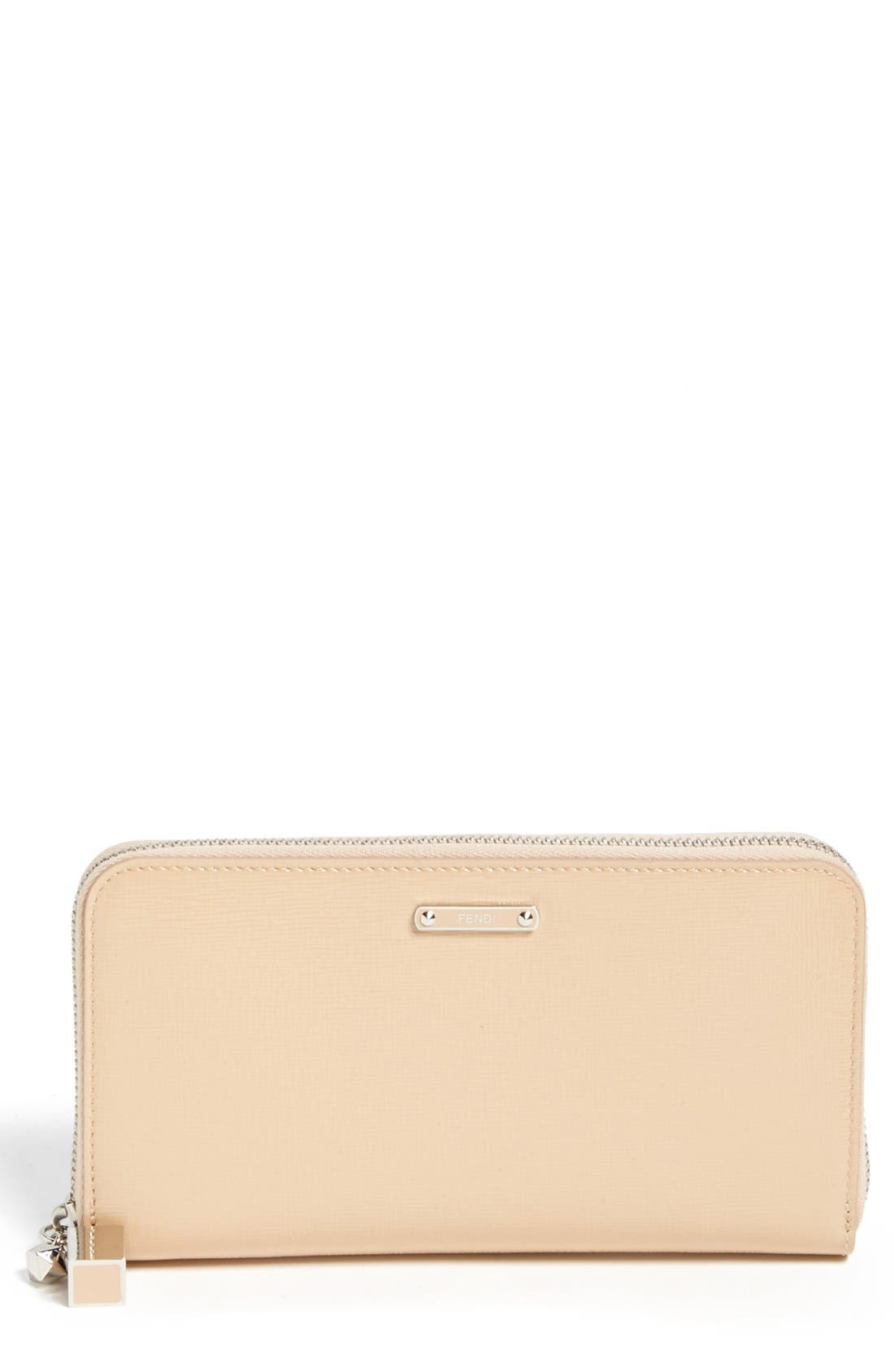 Main Image - Fendi 'Crayons - Vernice' Leather Continental Wallet