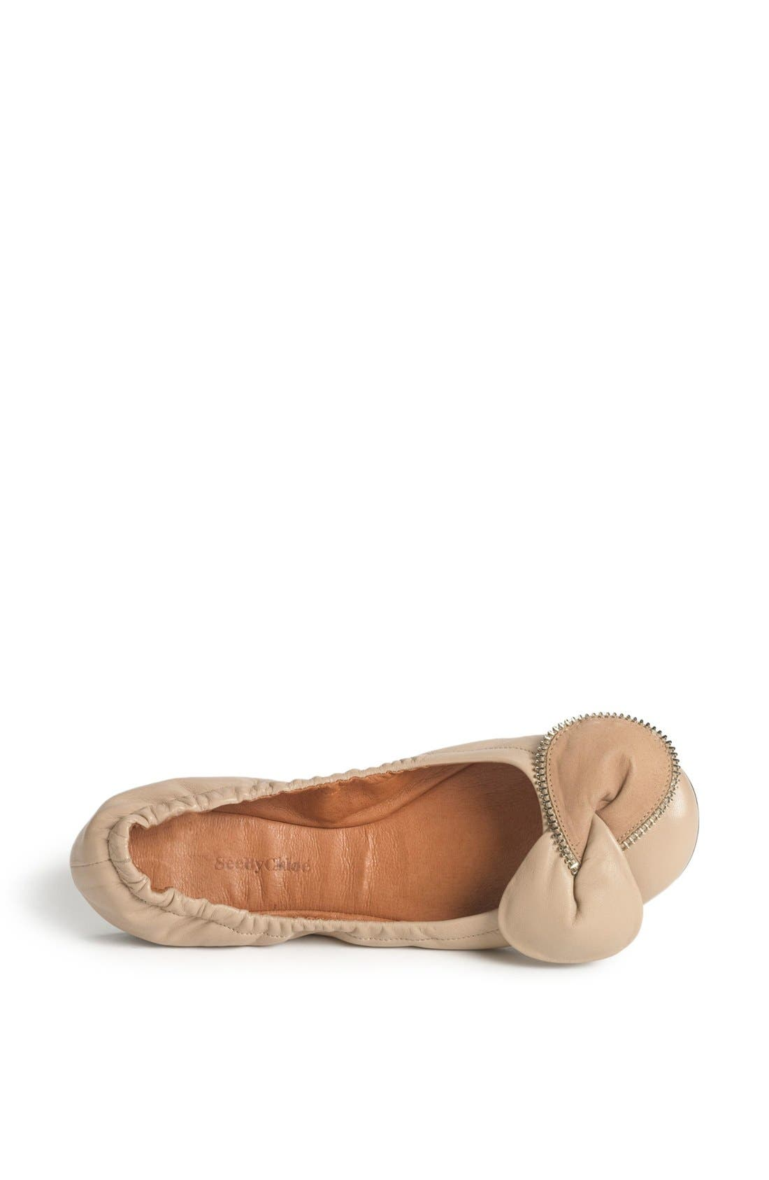Alternate Image 3  - See by Chloé 'Clara' Ballerina Flat