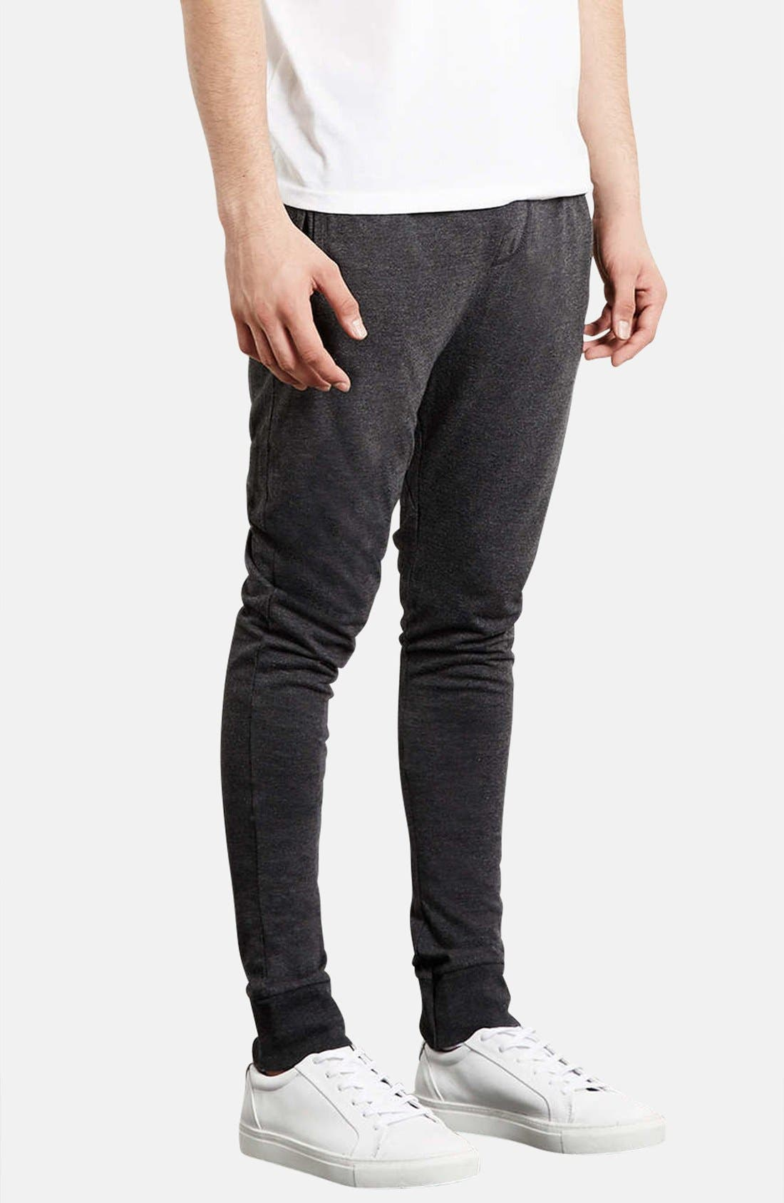 Alternate Image 1 Selected - Topman Skinny Fit Jogger Sweatpants