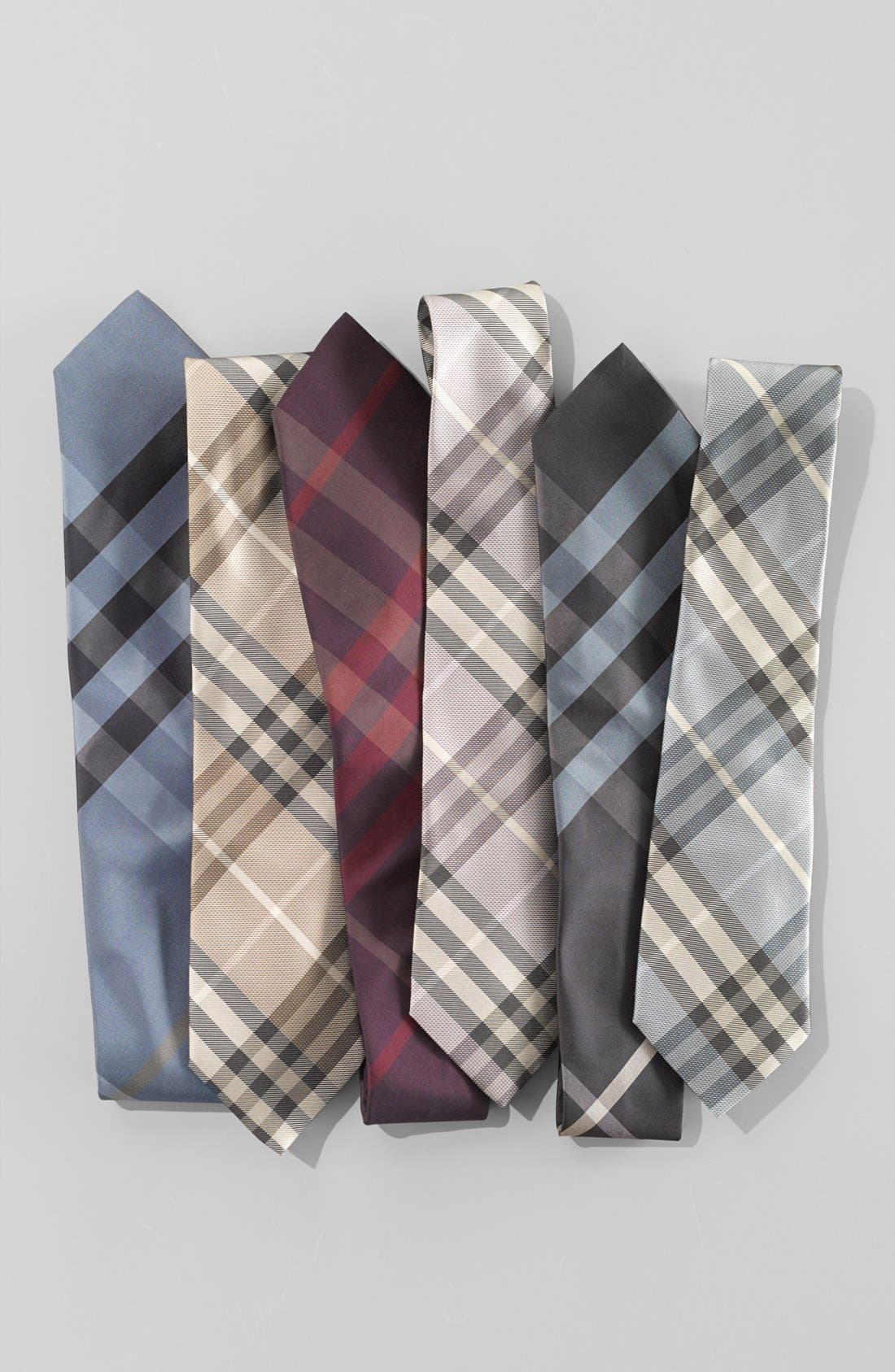 Alternate Image 2  - Burberry London 'Regent' Woven Silk Tie